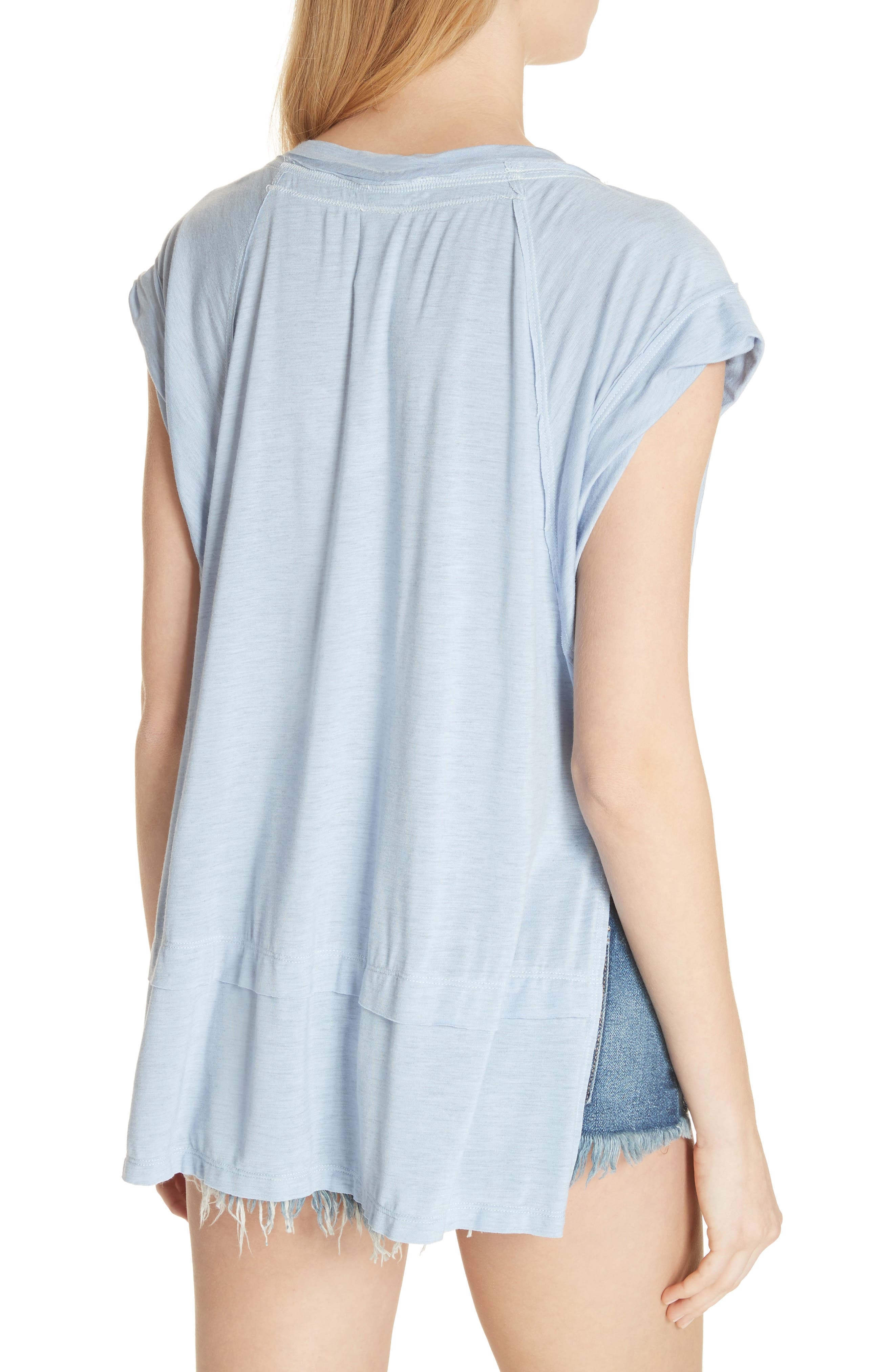 We the Free by Free People Voyage Tee,                             Alternate thumbnail 8, color,