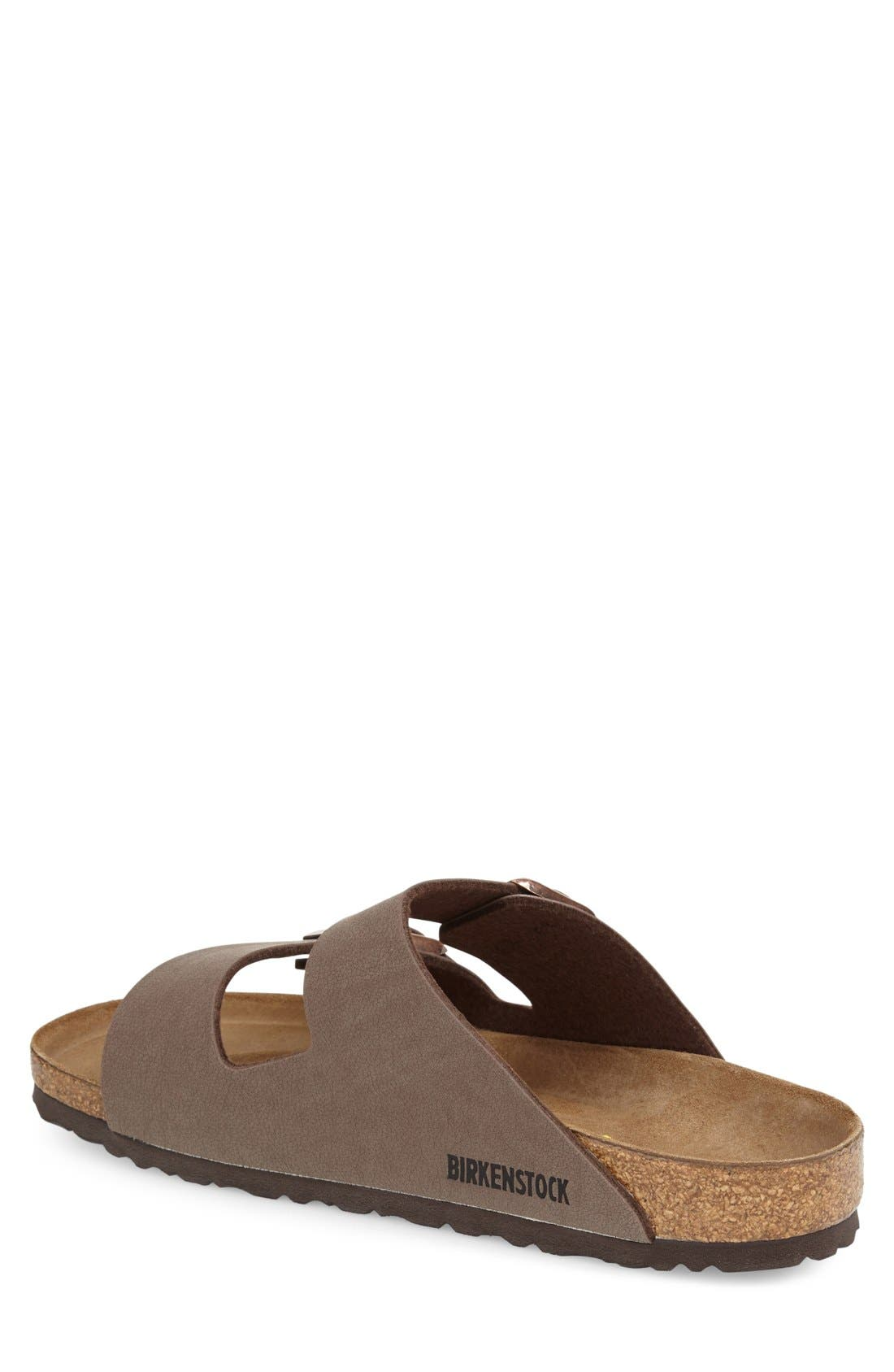 'Arizona' Slide Sandal,                             Alternate thumbnail 3, color,                             MOCHA