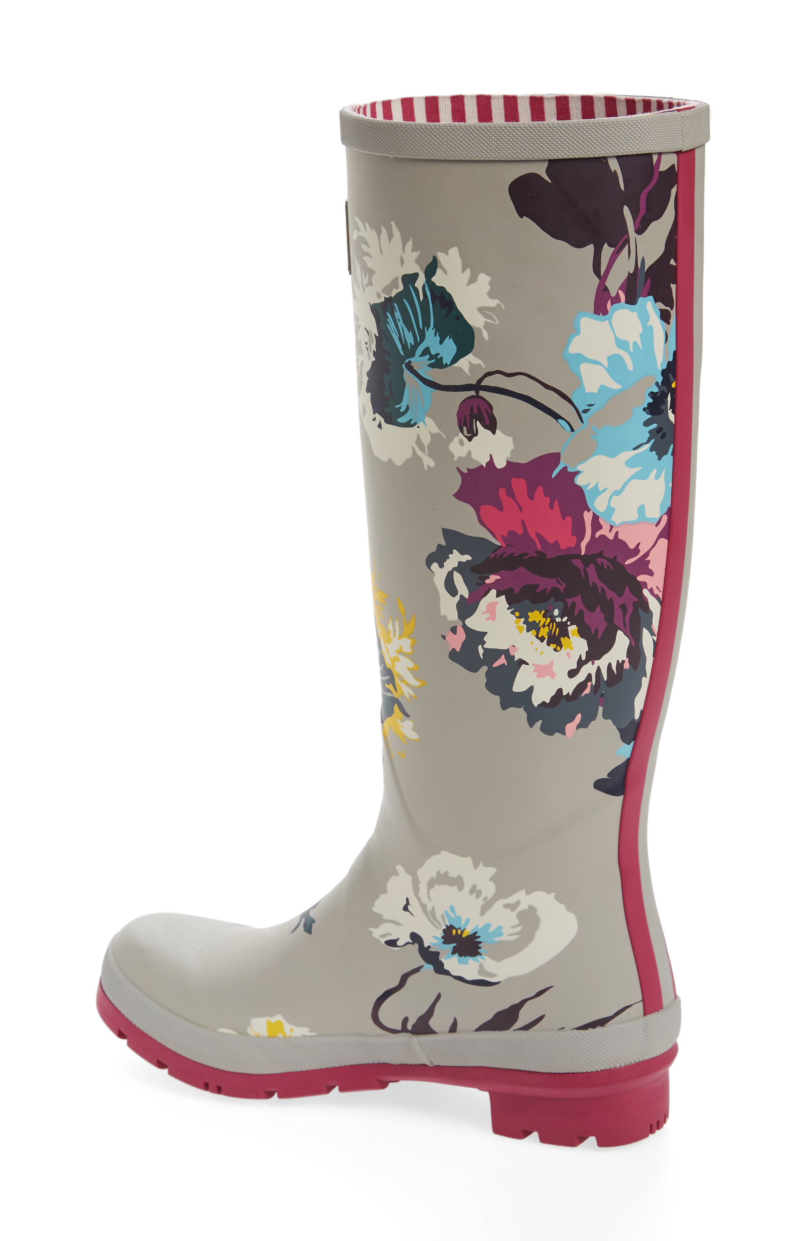 'Welly' Print Rain Boot,                             Alternate thumbnail 52, color,