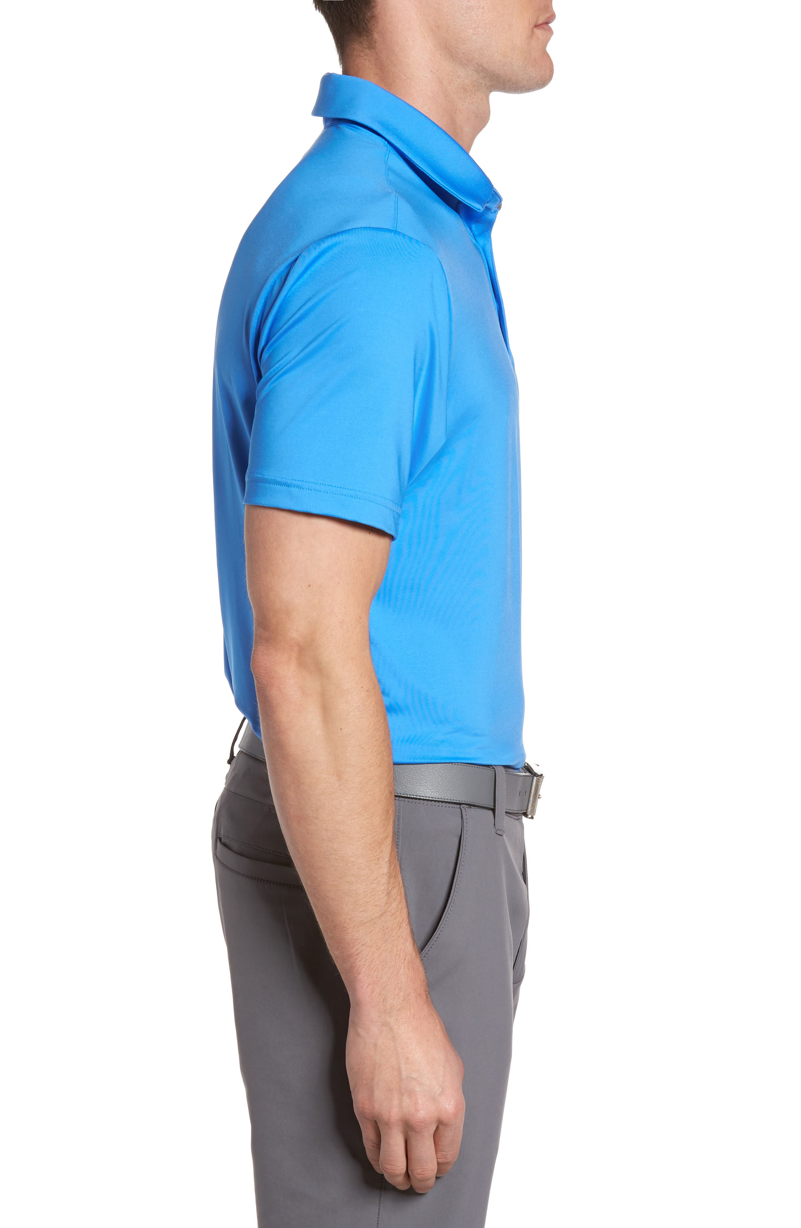 'Playoff' Loose Fit Short Sleeve Polo,                             Alternate thumbnail 157, color,