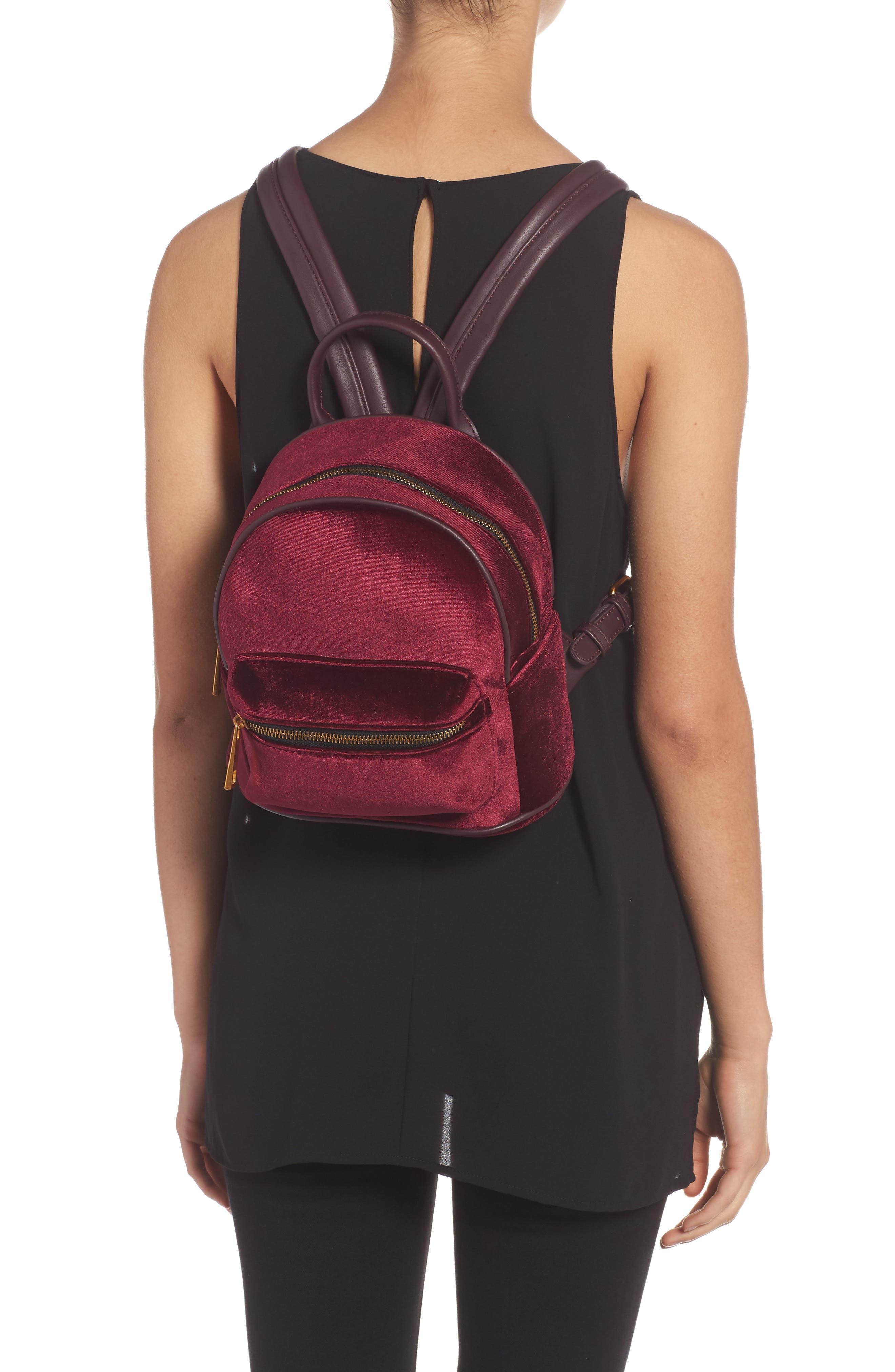 Velvet Backpack,                             Alternate thumbnail 8, color,