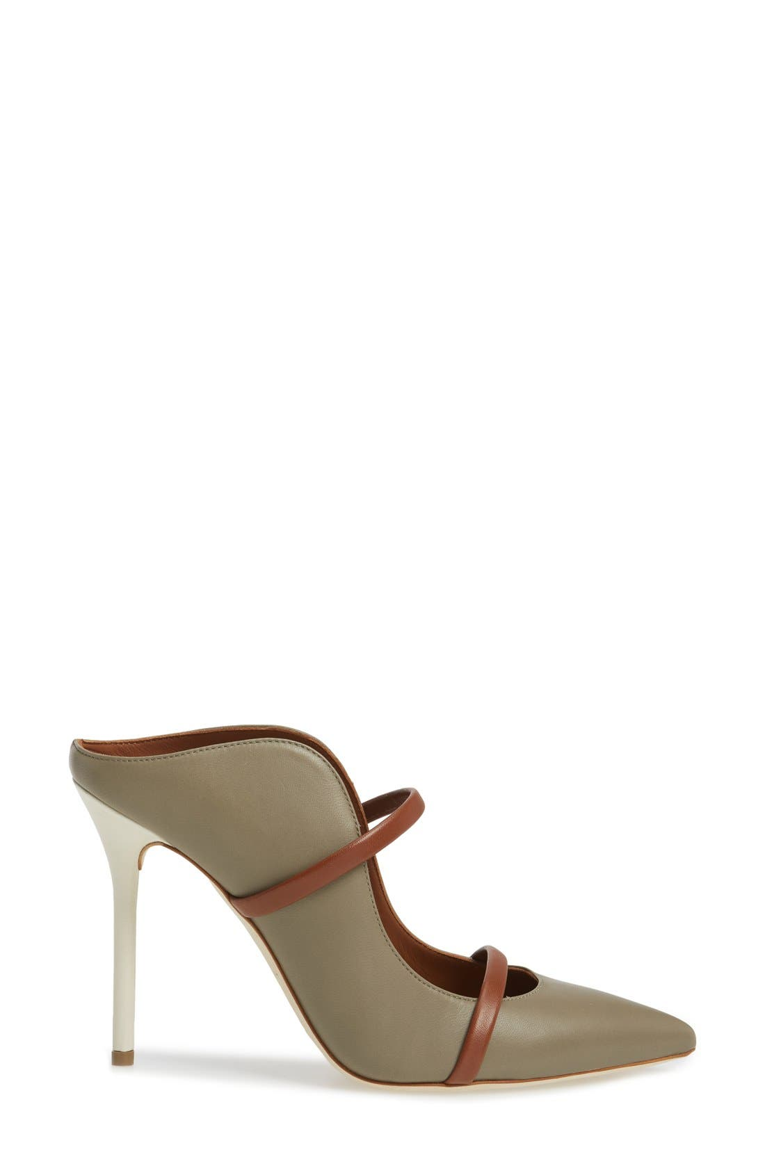 Malone Souliers 'Maureen' Pointy Toe Mule,                             Alternate thumbnail 6, color,                             025
