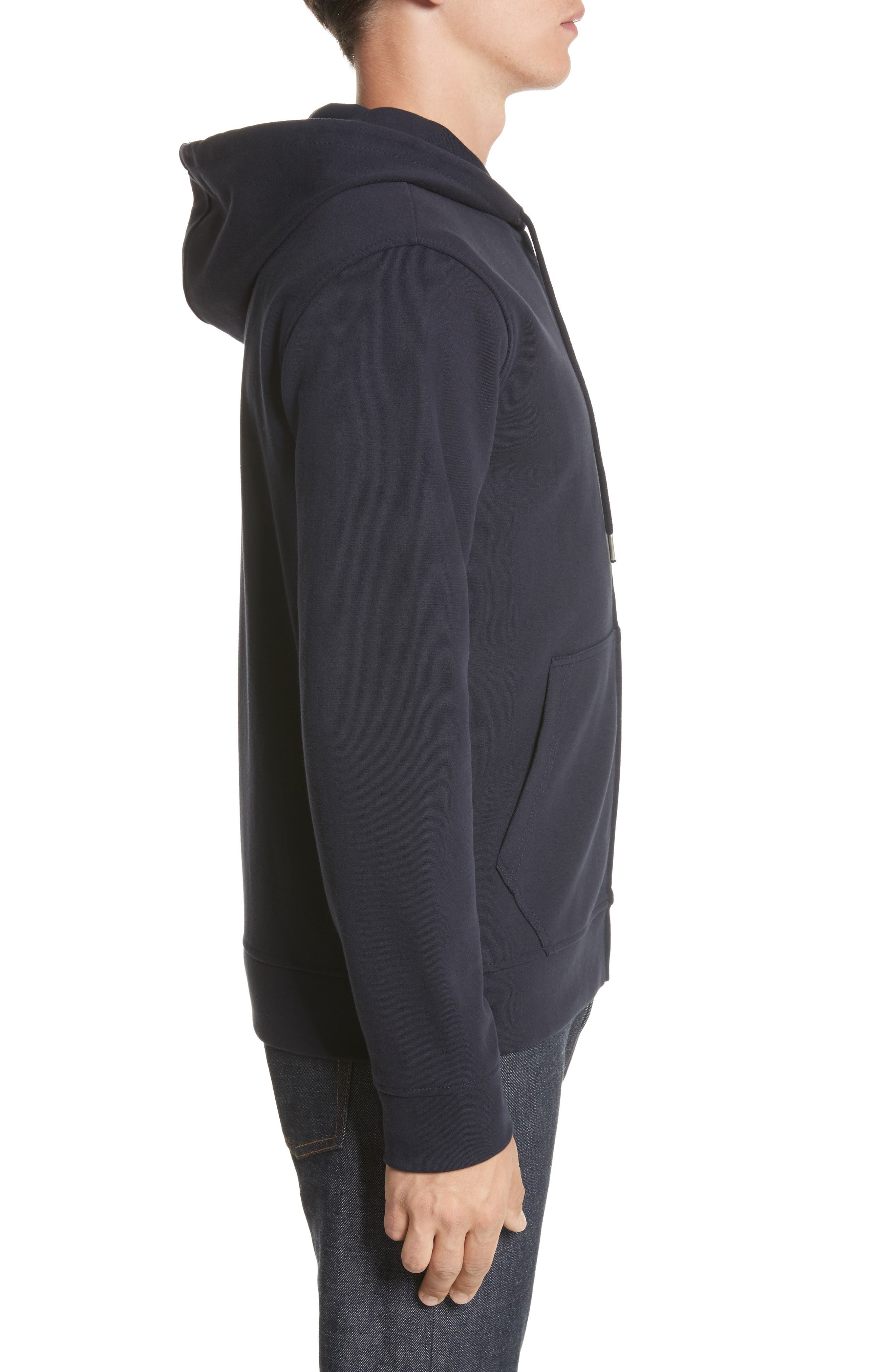 Roadie Zip Hoodie,                             Alternate thumbnail 3, color,                             420