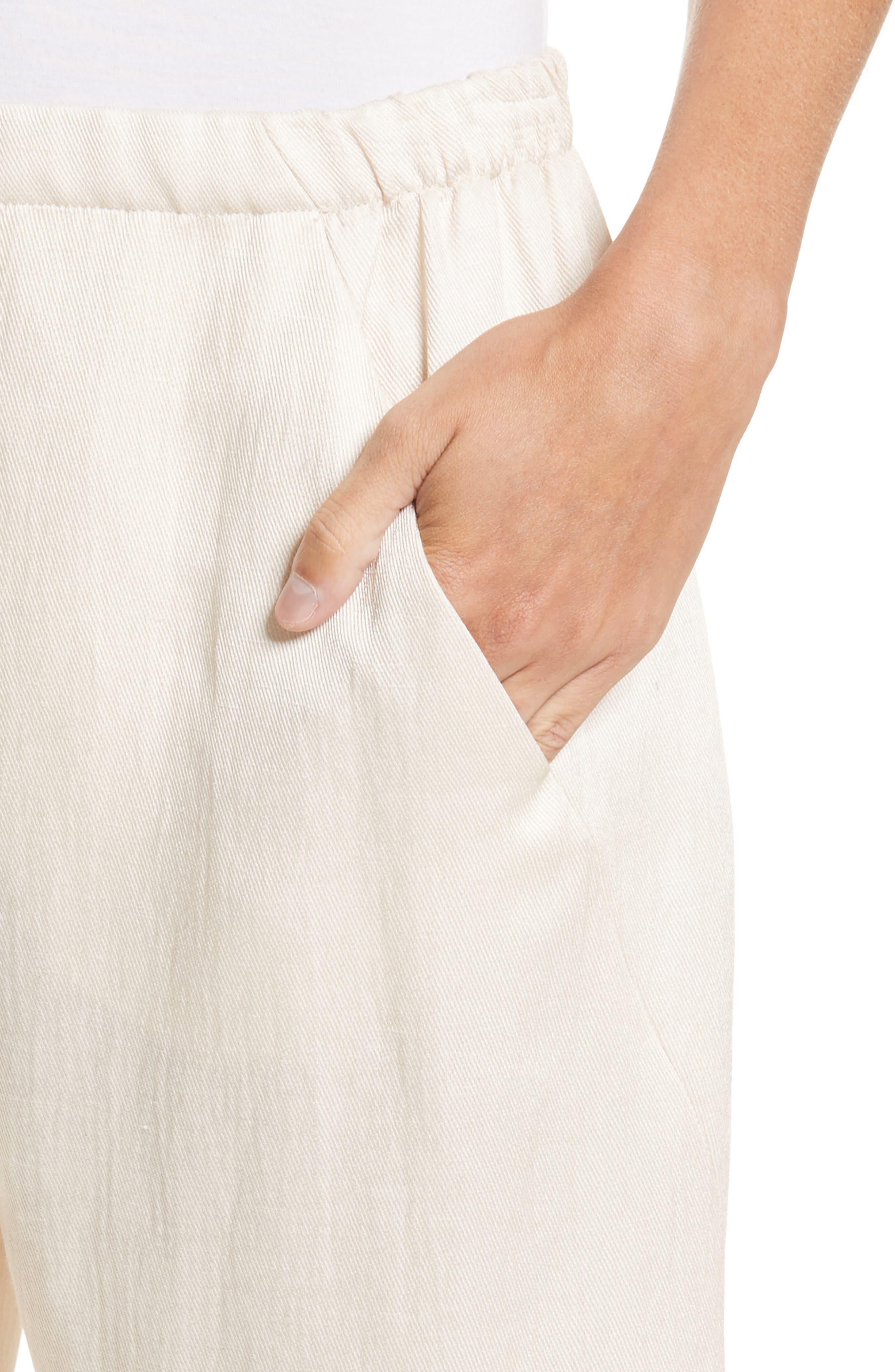 Gabi Eco Drape Pants,                             Alternate thumbnail 4, color,