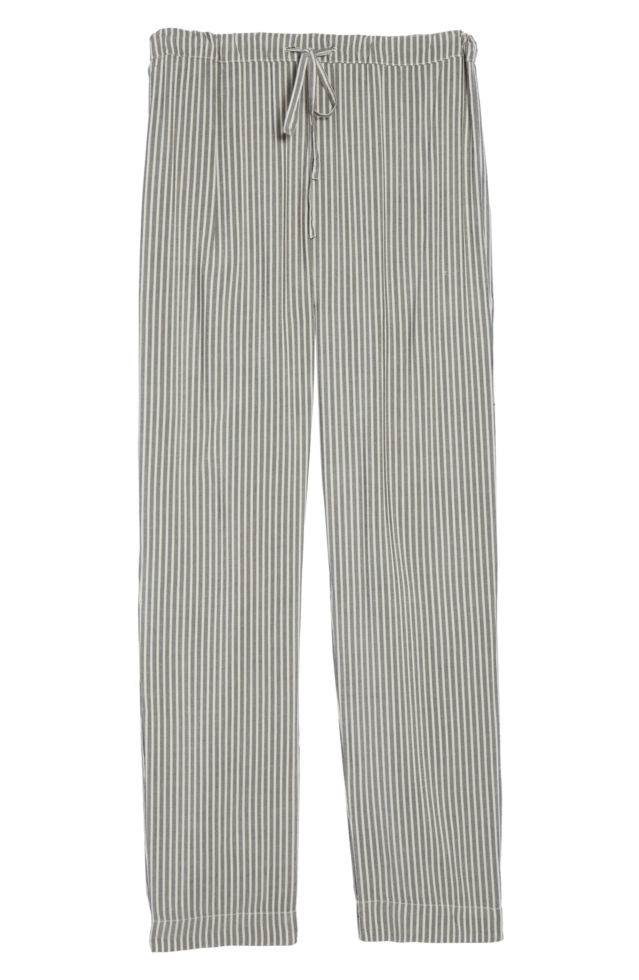 Stripe Pajama Pants,                             Alternate thumbnail 6, color,                             020
