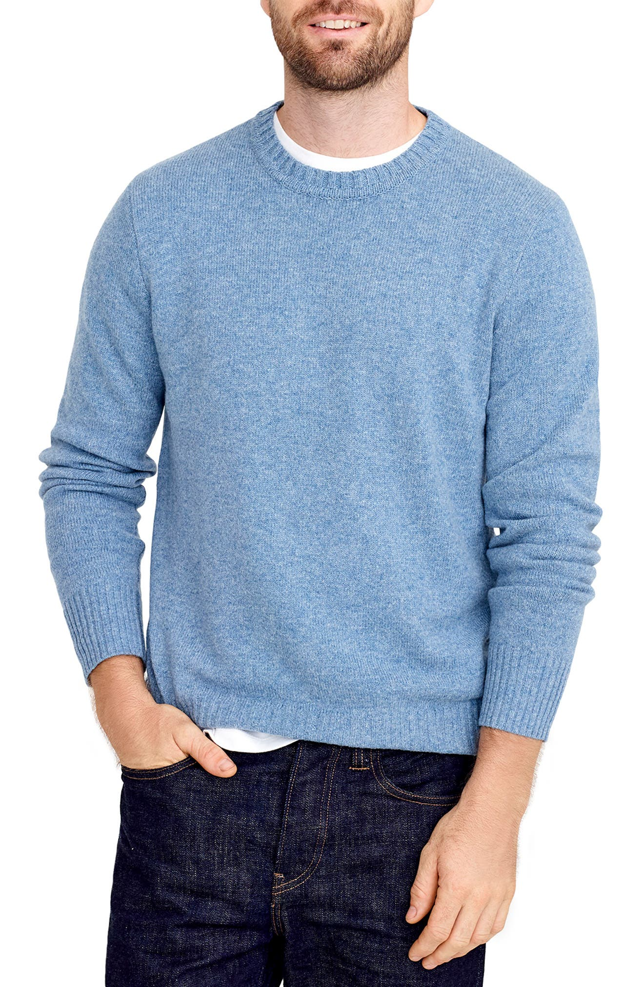 J.crew Rugged Merino Wool Blend Sweater