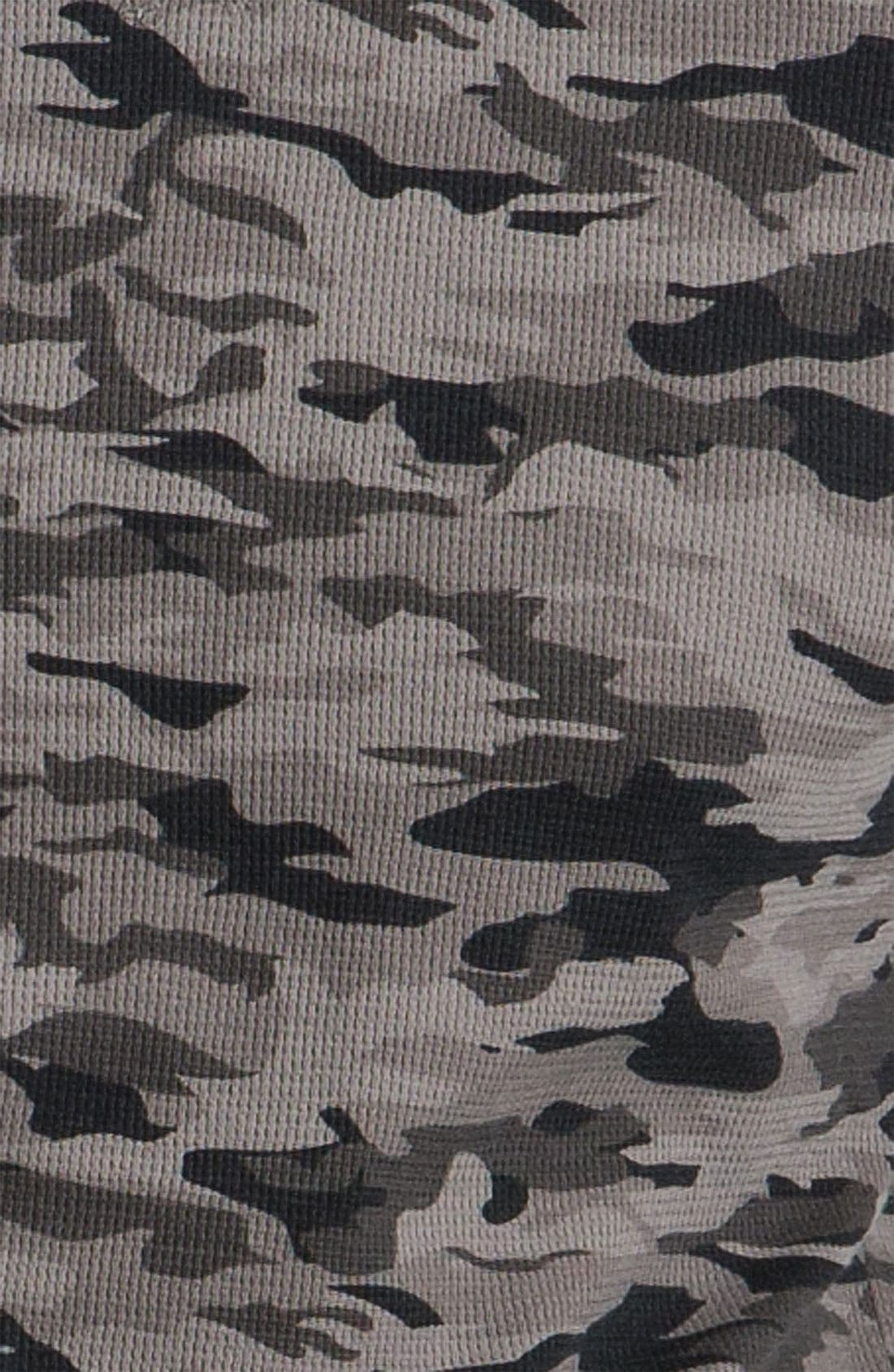 The Rail by Public Opinion Camo Thermal Shirt,                             Alternate thumbnail 3, color,                             001