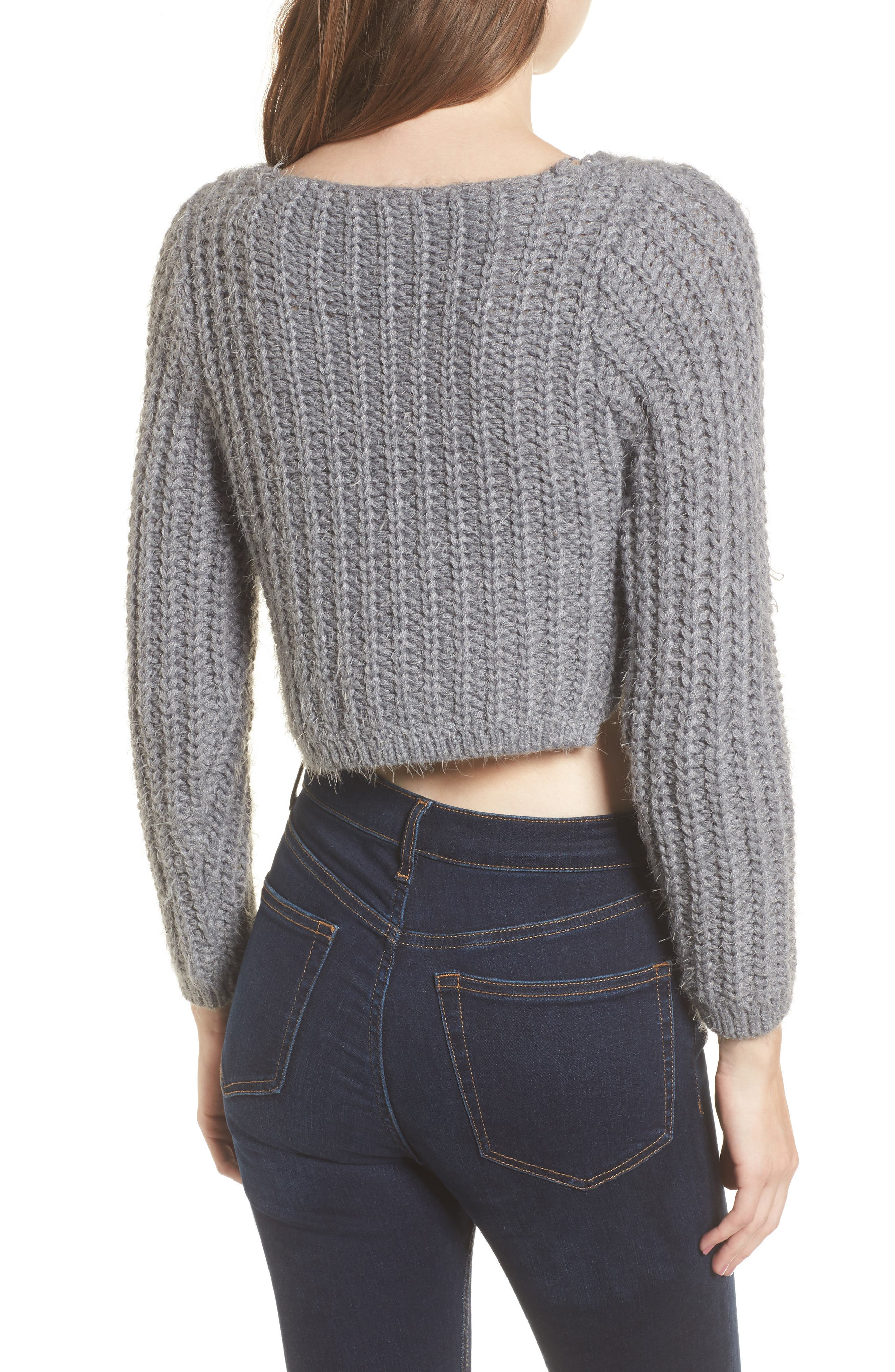 Bethany Crop Sweater,                             Alternate thumbnail 2, color,                             020