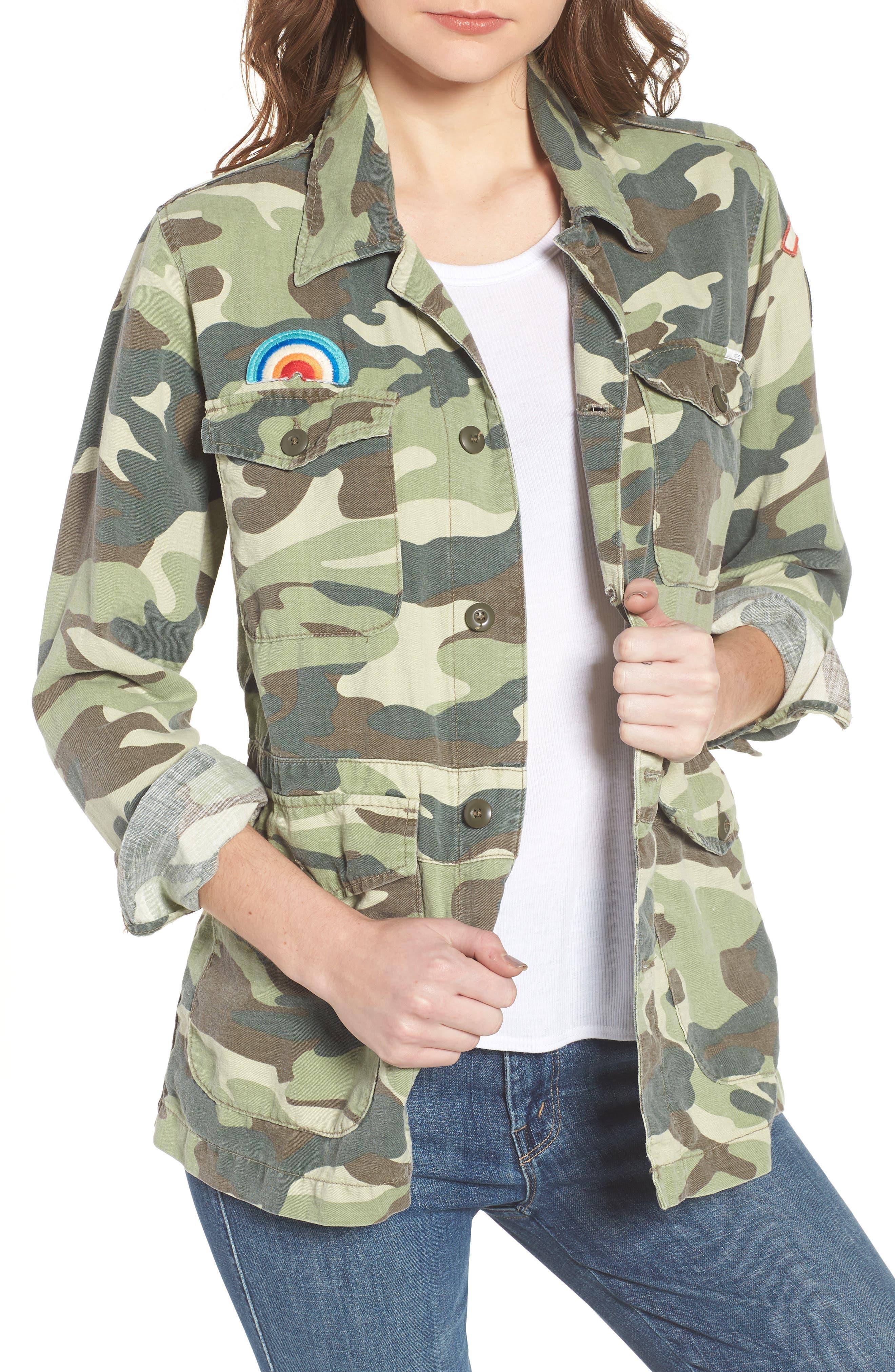The Loose Veteran Camo Jacket,                             Main thumbnail 1, color,                             315