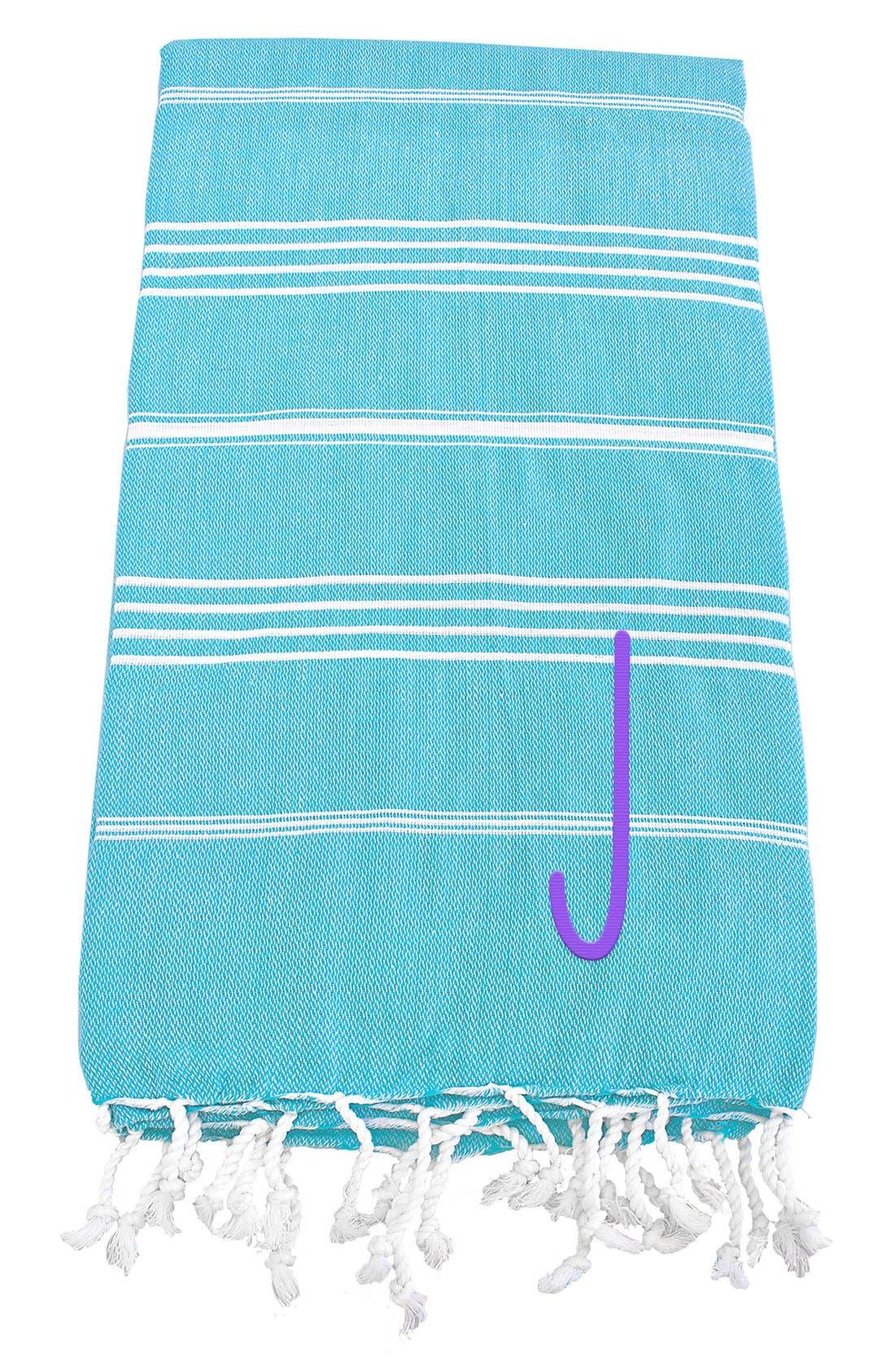 Monogram Turkish Cotton Towel,                             Main thumbnail 93, color,