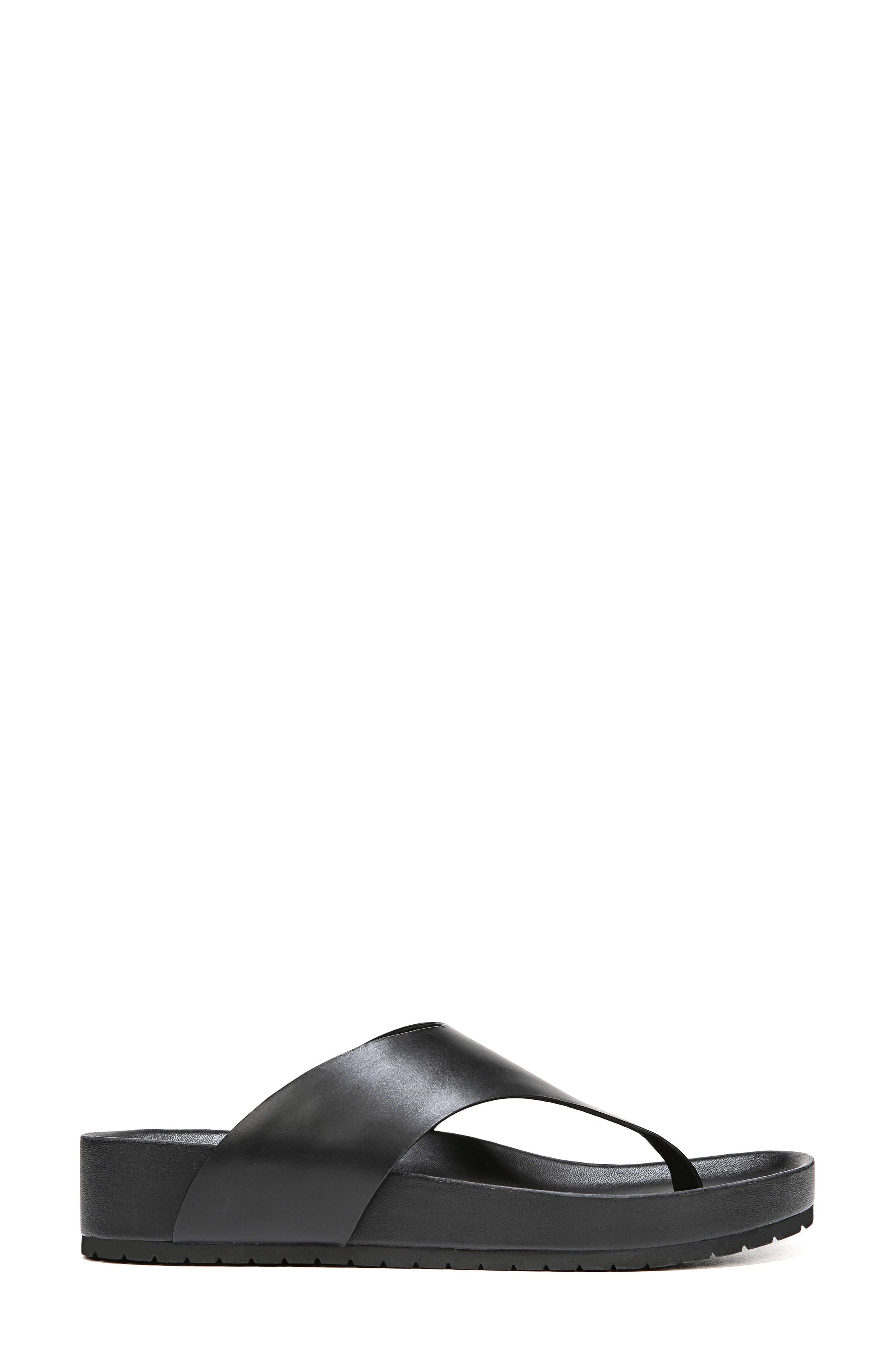 Padma Platform Sandal,                             Alternate thumbnail 3, color,                             BLACK