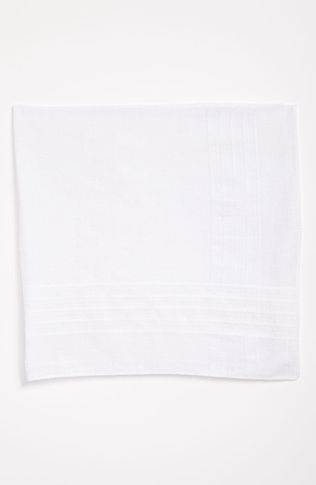 Men's Shop Cotton Handkerchief, Main, color, 100