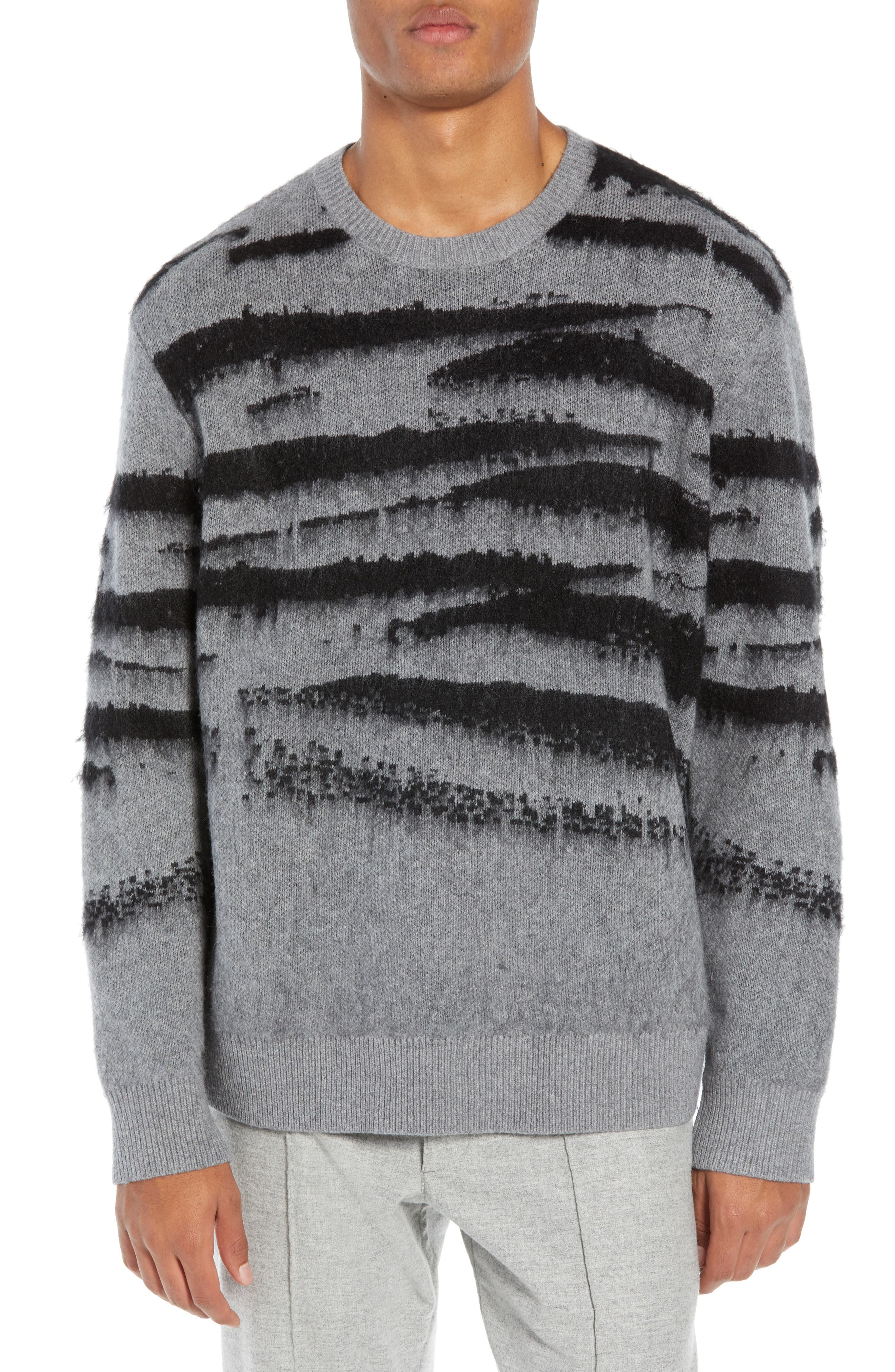 Ture Regular Fit Sweater,                         Main,                         color, GREY/ CINDER
