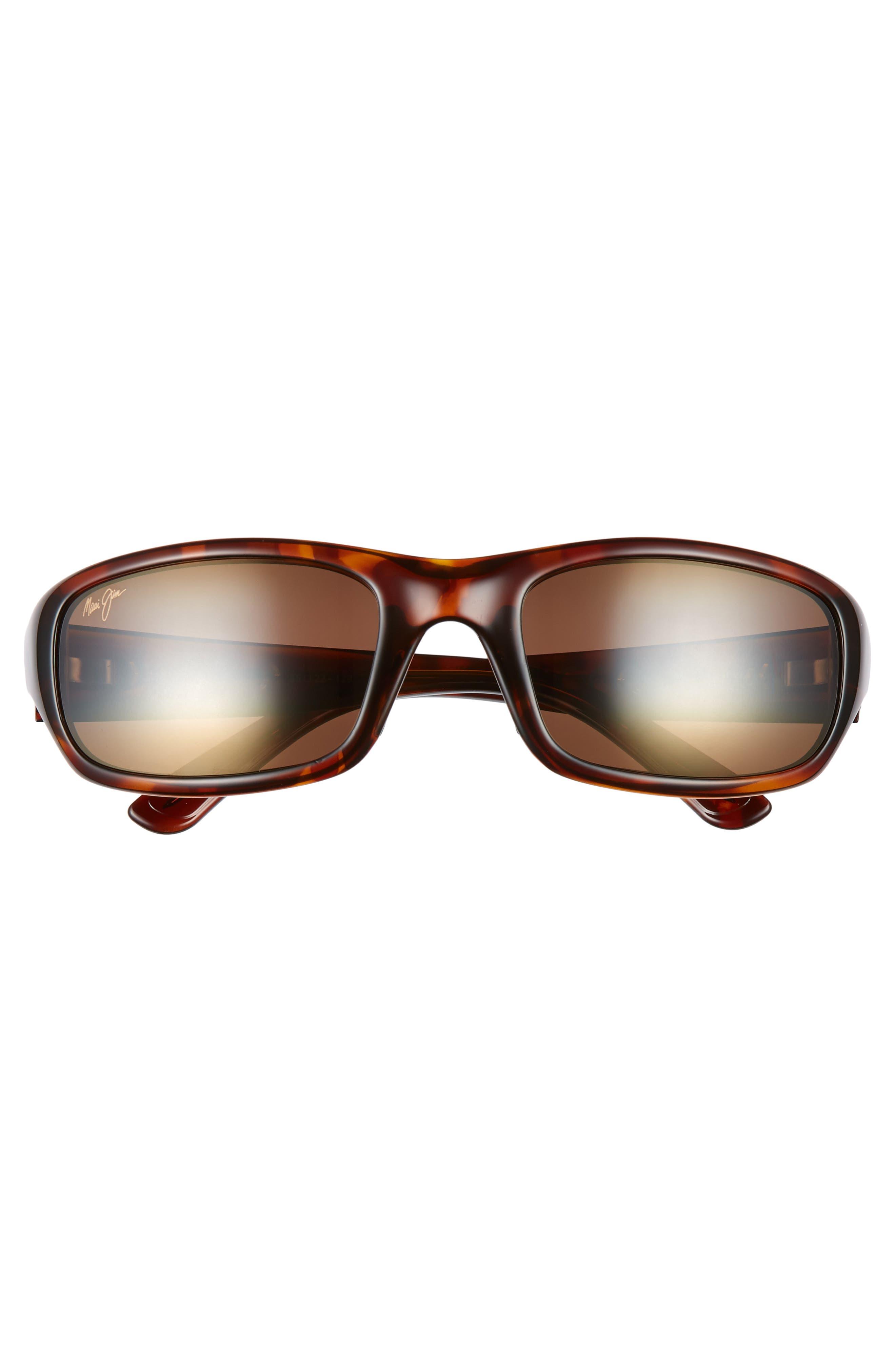 'Stingray - PolarizedPlus<sup>®</sup>2' 56mm Sunglasses,                             Alternate thumbnail 3, color,                             TORTOISE