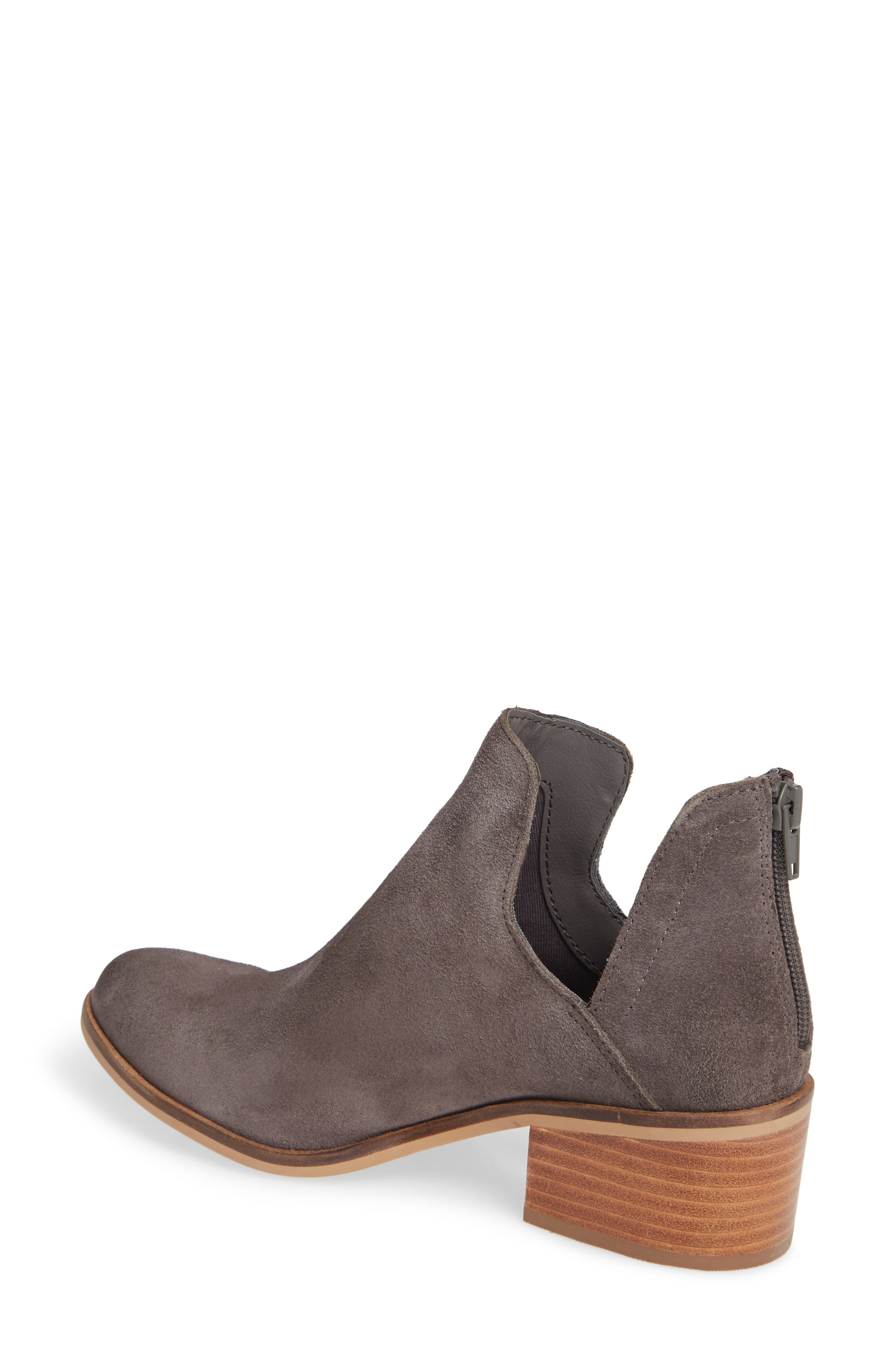 Lancaster Bootie,                             Alternate thumbnail 2, color,                             GREY SUEDE