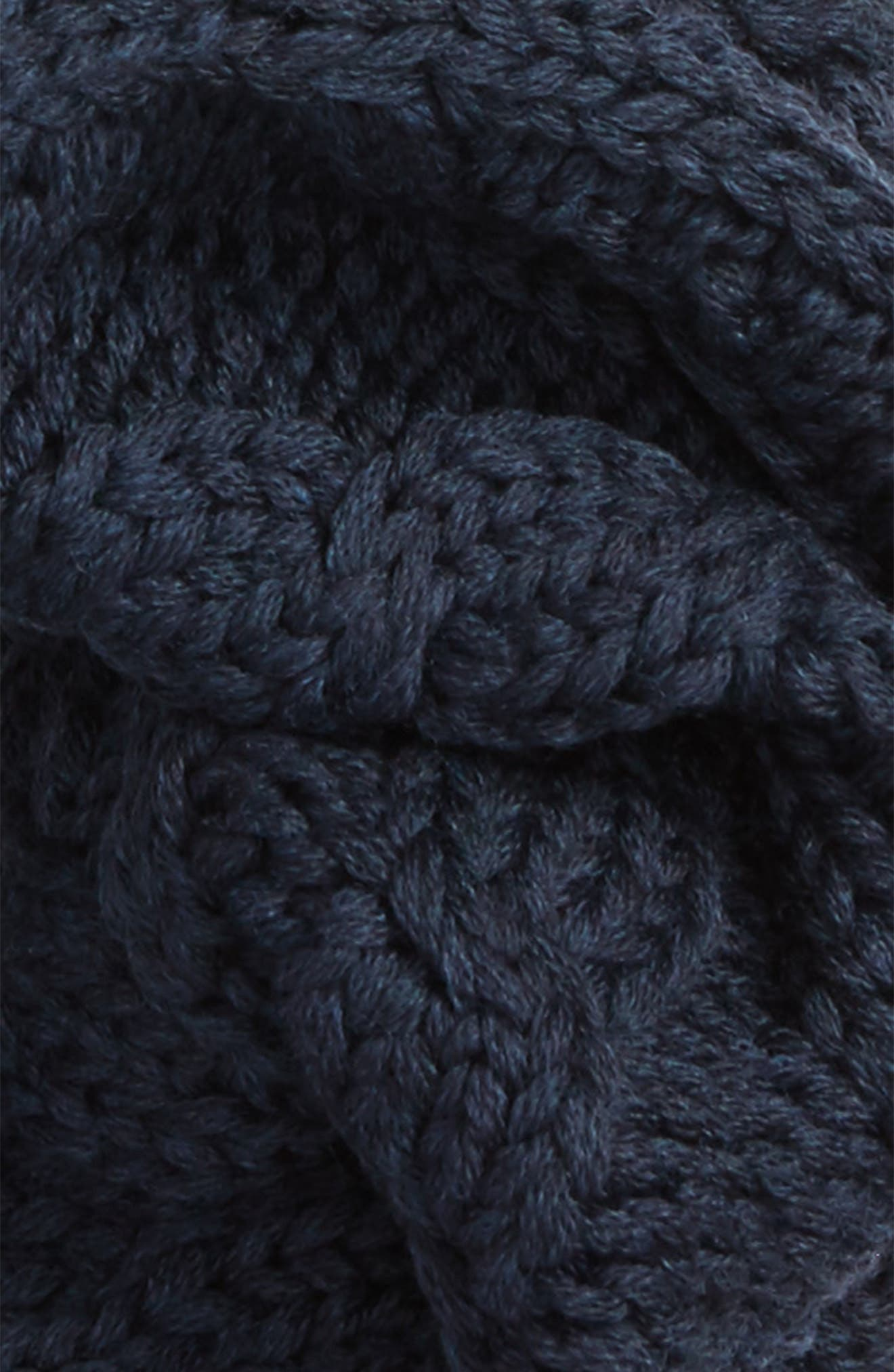 Chunky Cable Wool Snood,                             Alternate thumbnail 10, color,