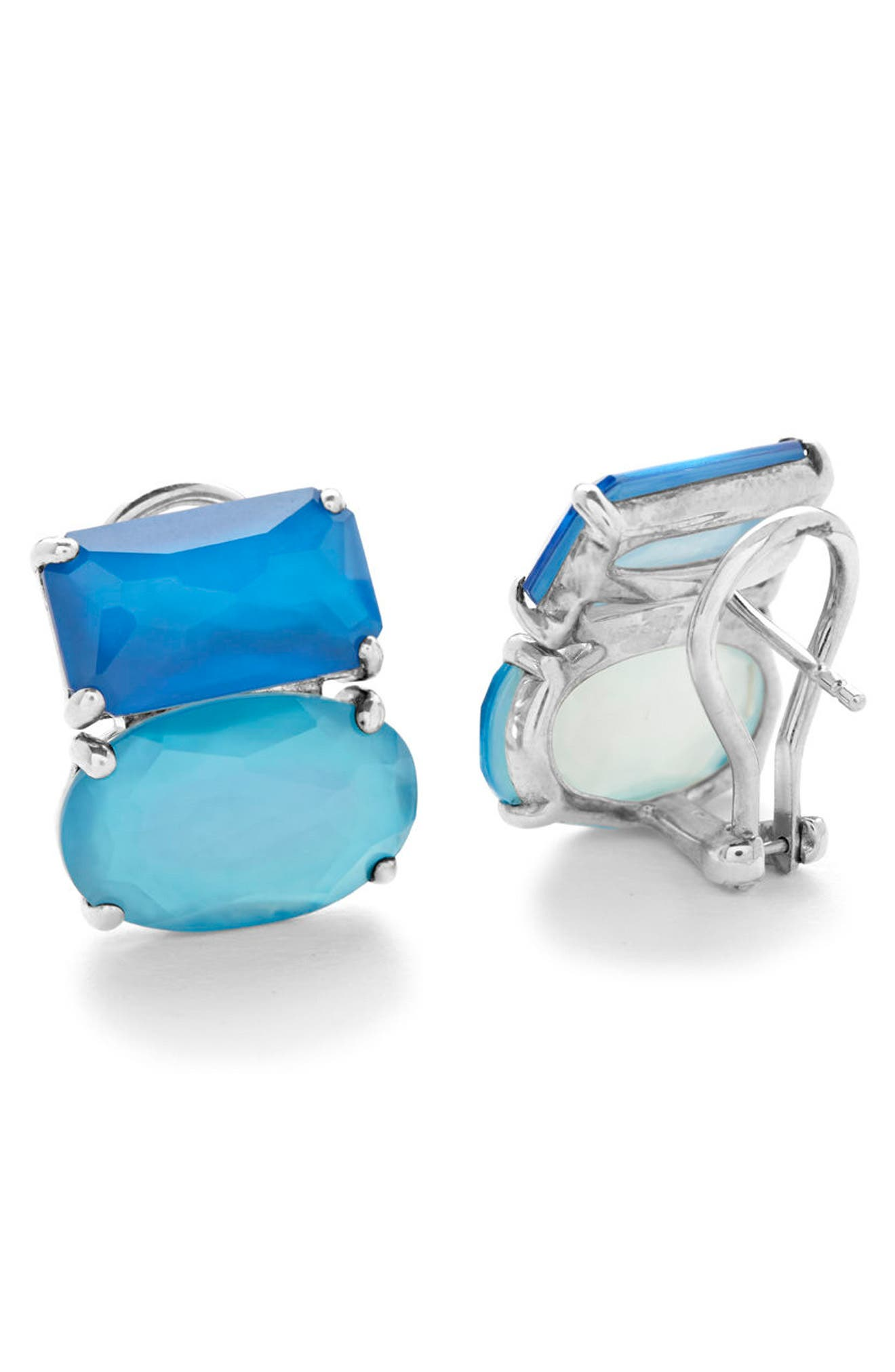 Wonderland Cluster Stud Earrings,                             Alternate thumbnail 2, color,                             400