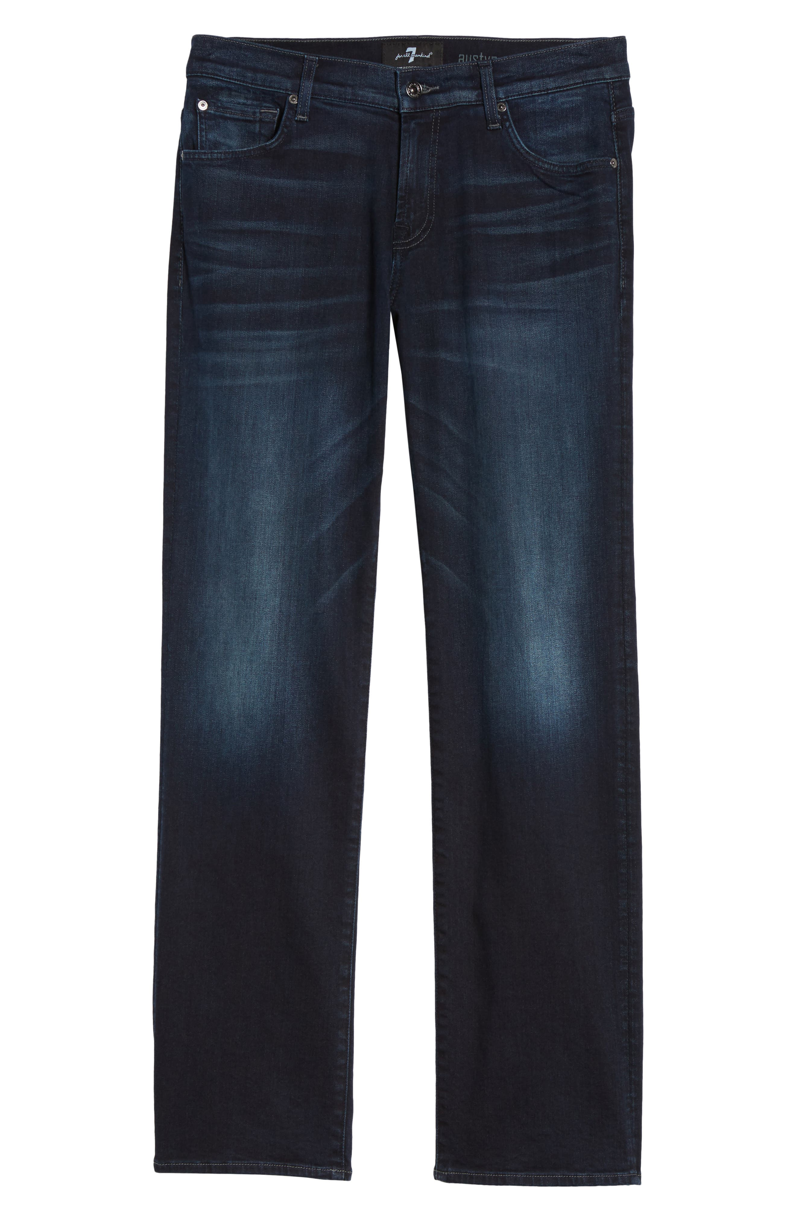 Austyn Relaxed Fit Jeans,                             Alternate thumbnail 6, color,                             400