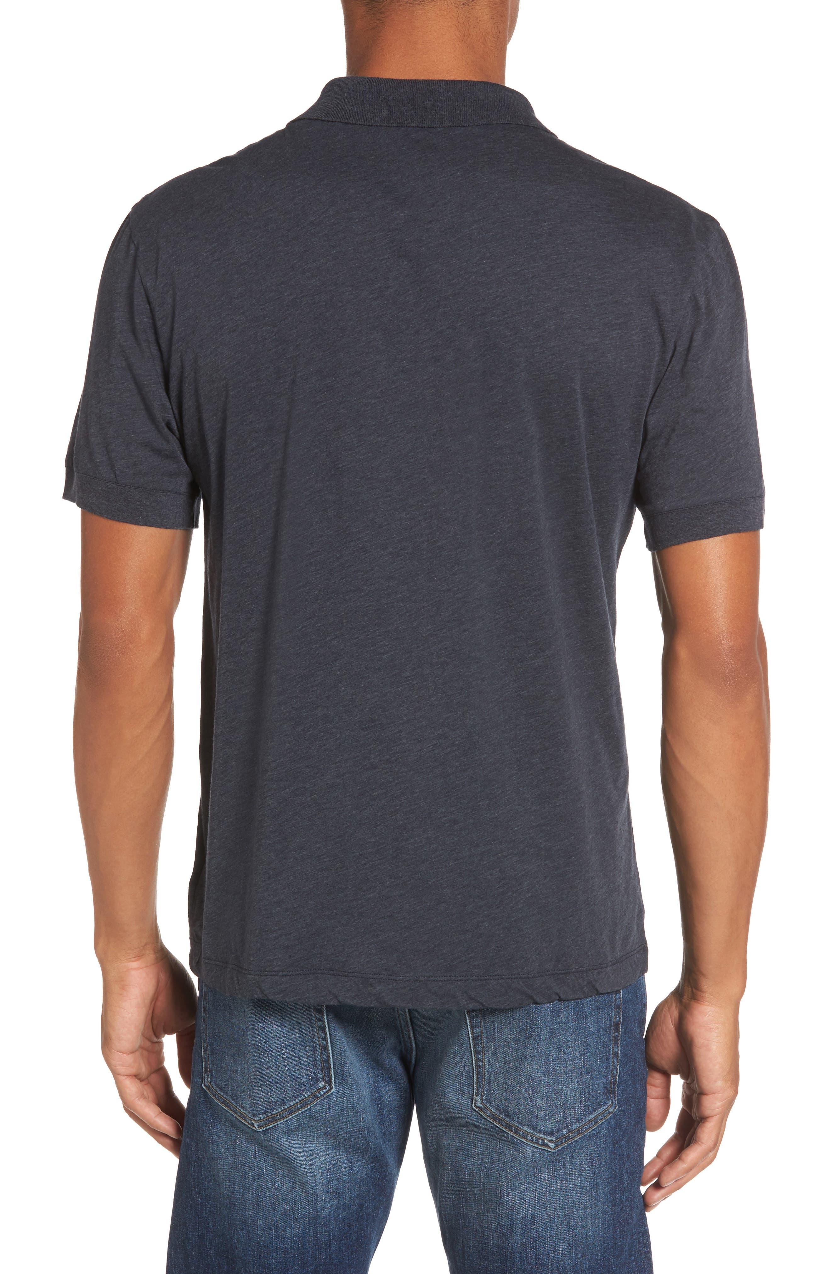 Clean Cotton & Cashmere Polo,                             Alternate thumbnail 2, color,                             411