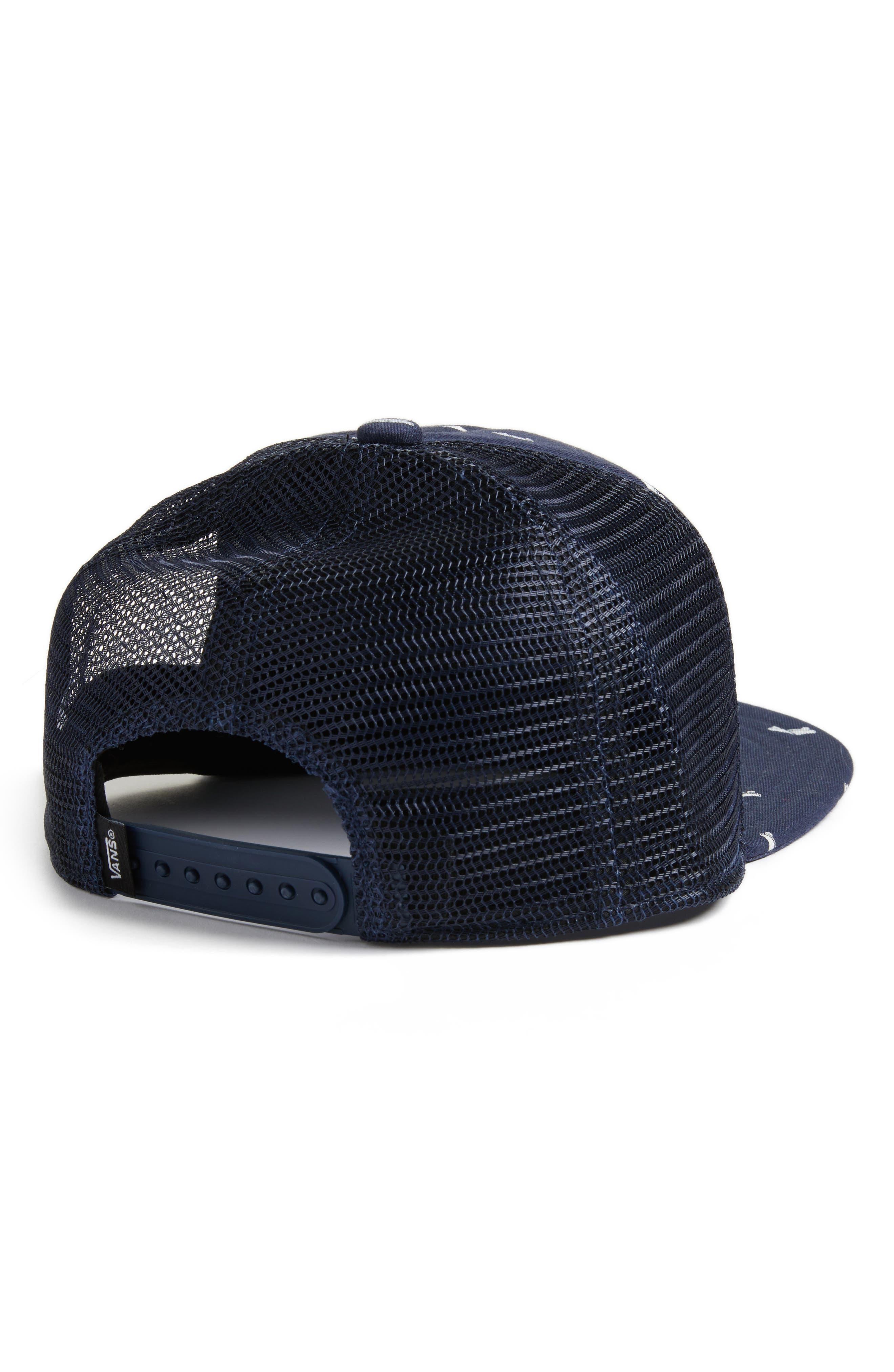 Classic Logo Patch Trucker Hat,                             Alternate thumbnail 2, color,                             420