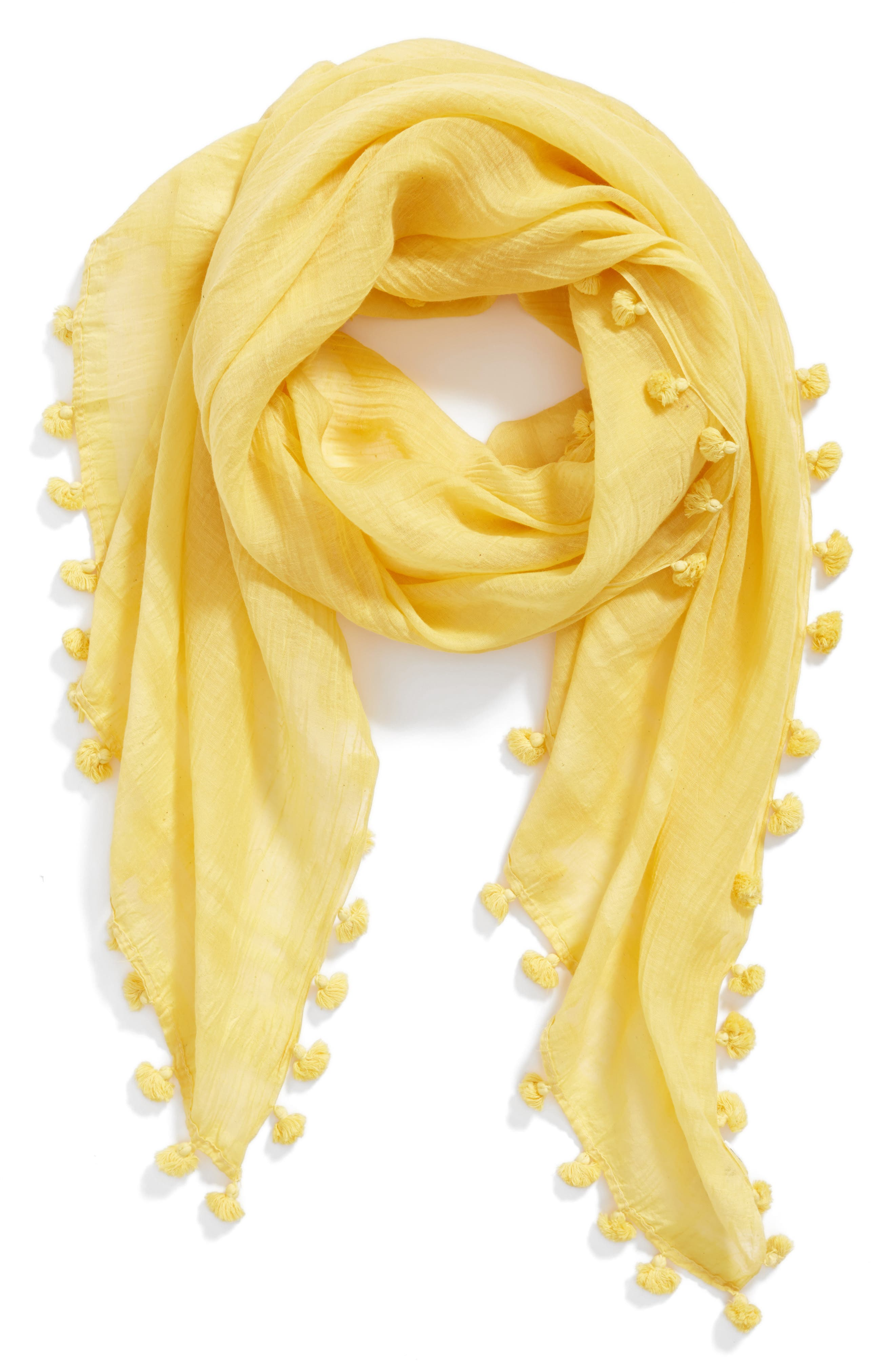 Cotton & Silk Scarf,                             Alternate thumbnail 12, color,