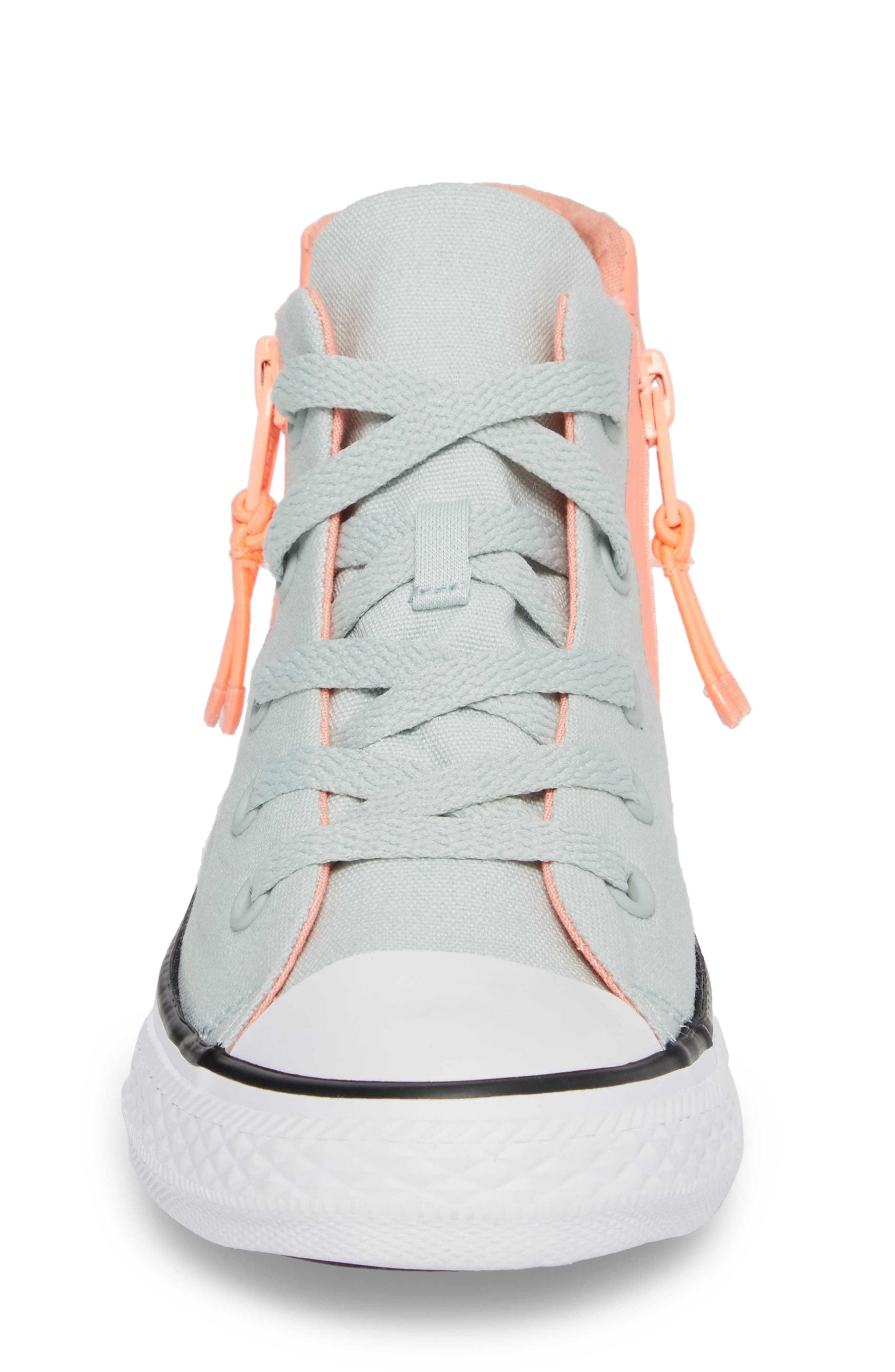 Chuck Taylor<sup>®</sup> All Star<sup>®</sup> Sport Zip High Top Sneaker,                             Alternate thumbnail 4, color,                             416