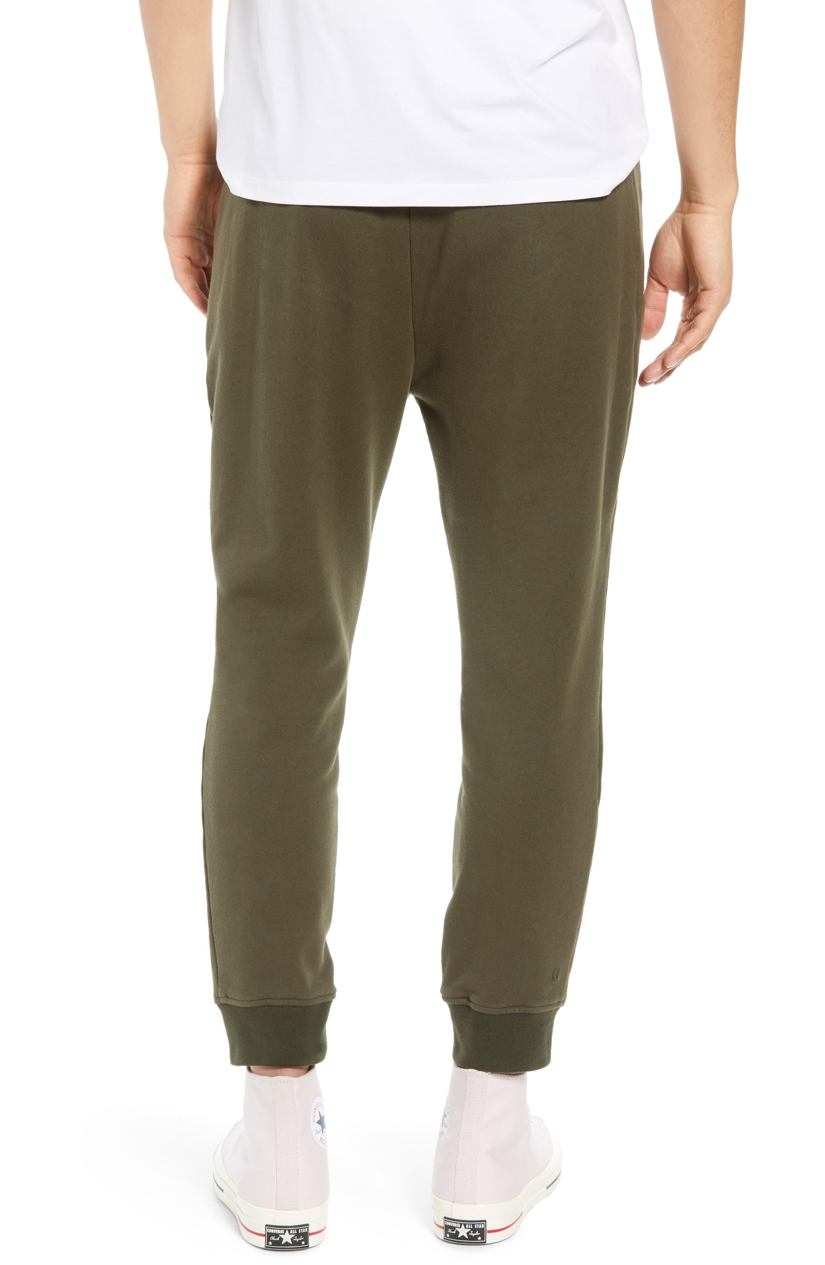 Regular Fit Sweatpants,                             Alternate thumbnail 2, color,                             KHAKI