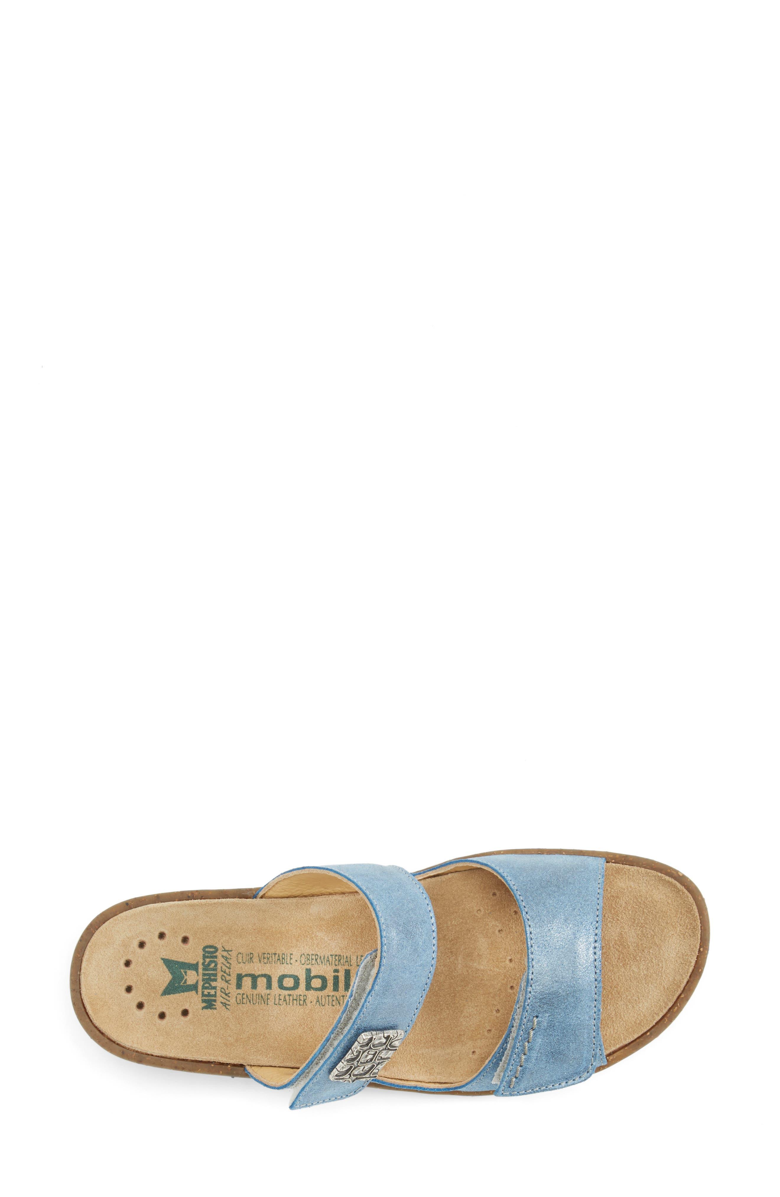 'Bregalia' Metallic Leather Sandal,                             Alternate thumbnail 2, color,                             400
