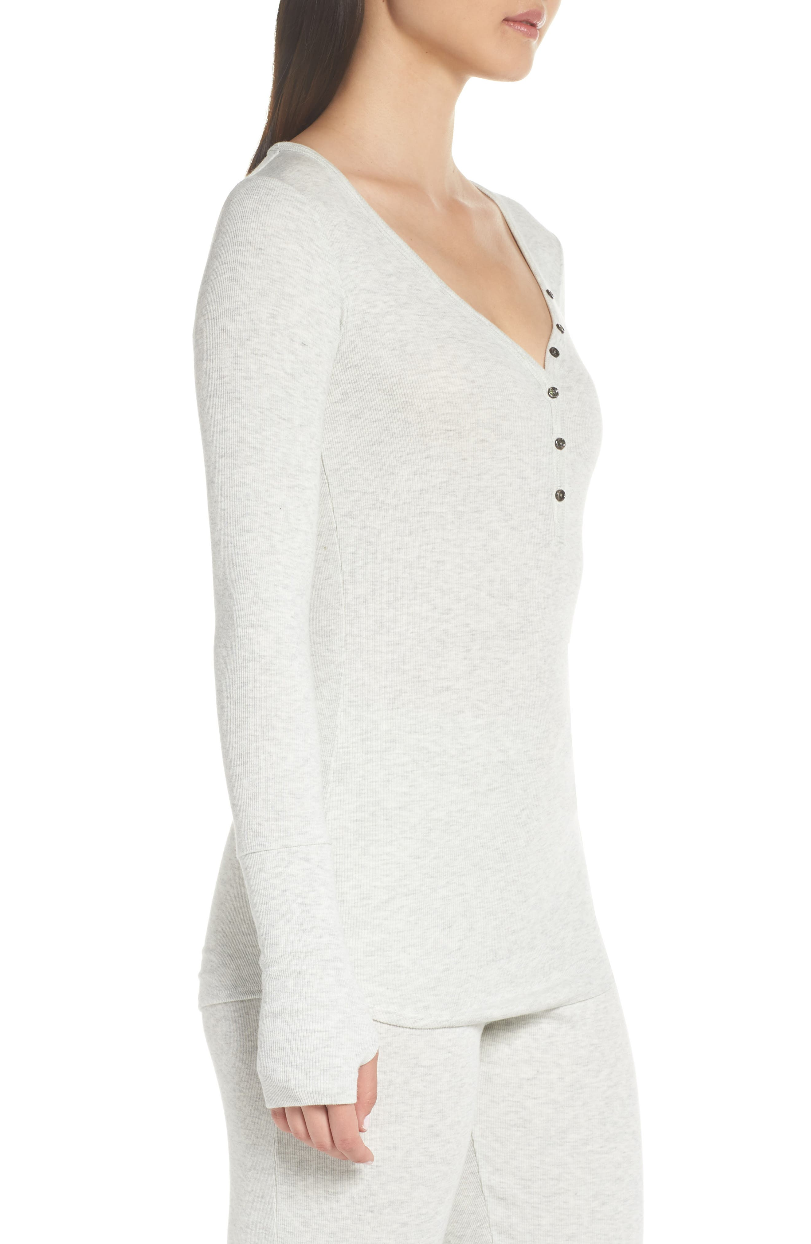 Daydream Long Sleeve Henley,                             Alternate thumbnail 3, color,                             061