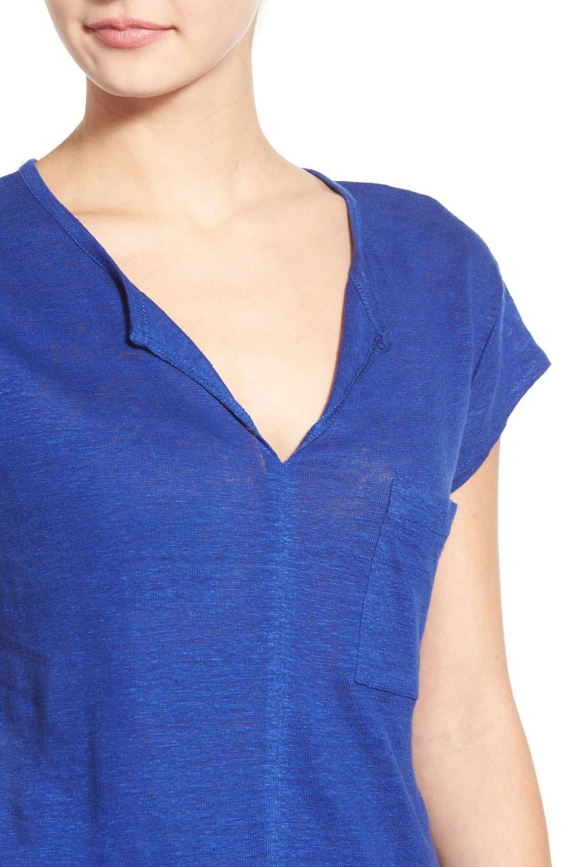 City Mix Layered Look Tee,                             Alternate thumbnail 80, color,