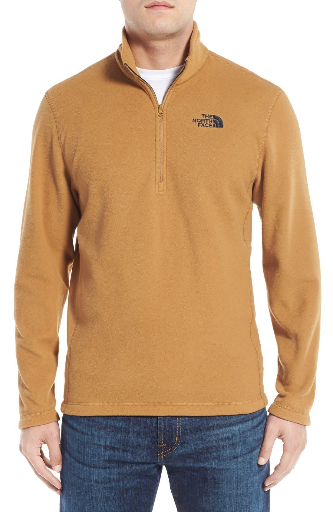 'TKA 100 Glacier' Quarter Zip Fleece Pullover,                             Main thumbnail 25, color,