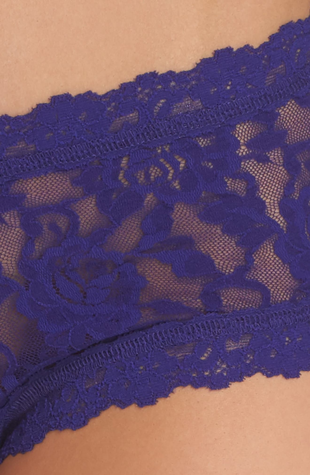'Signature Lace' Boyshorts,                             Alternate thumbnail 365, color,
