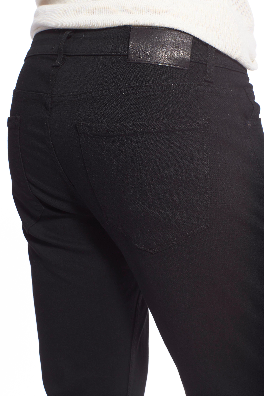 Transcend - Lennox Slim Fit Jeans,                             Alternate thumbnail 3, color,                             BLACK SHADOW