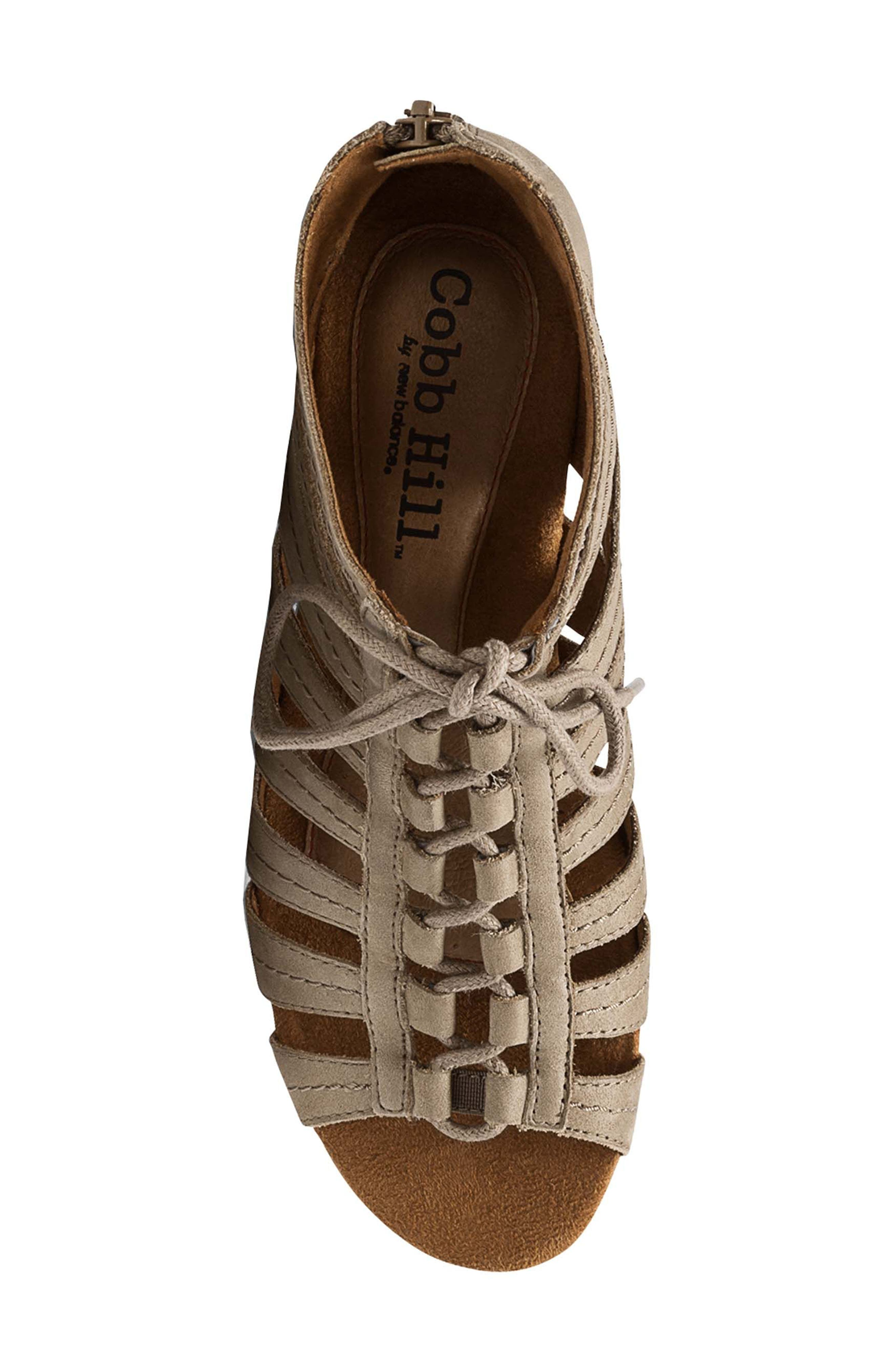 'Gabby' Lace-Up Sandal,                             Alternate thumbnail 33, color,