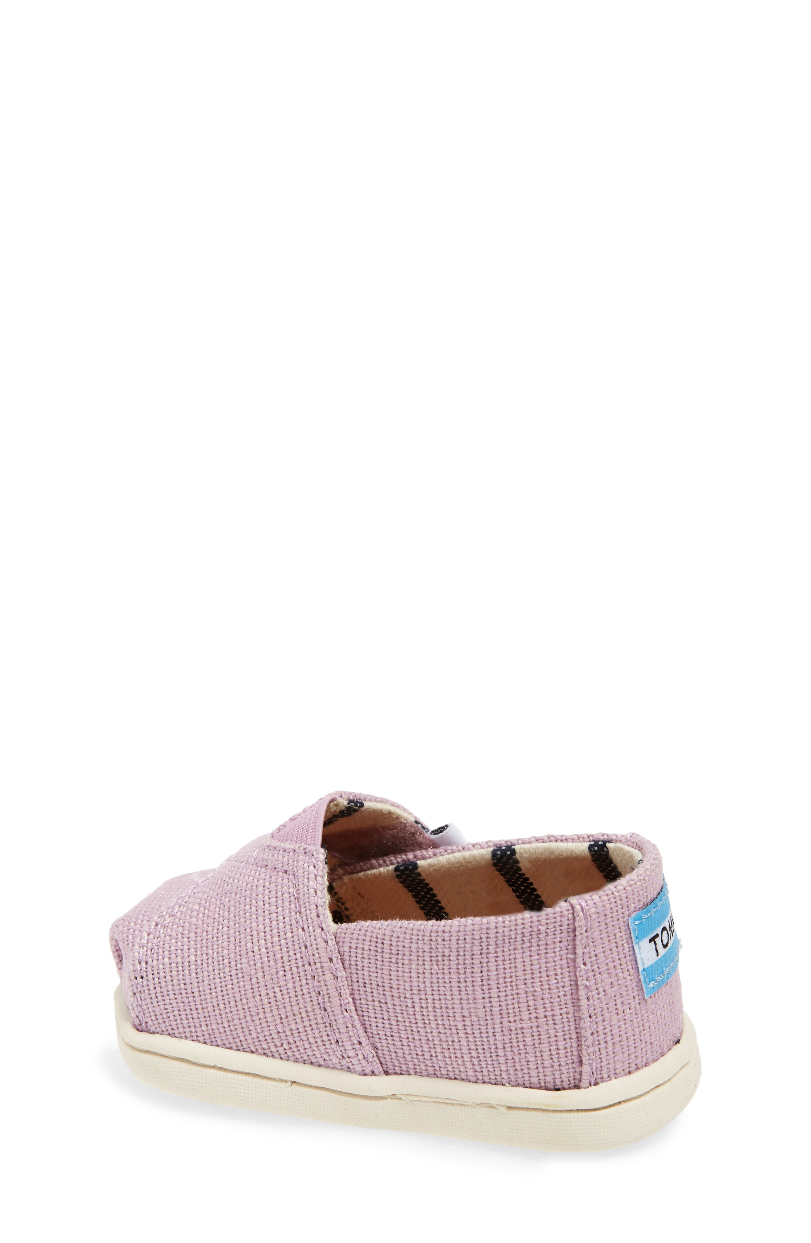 Heritage Canvas Slip-On,                             Alternate thumbnail 2, color,                             SOFT LILAC HERITAGE CANVAS