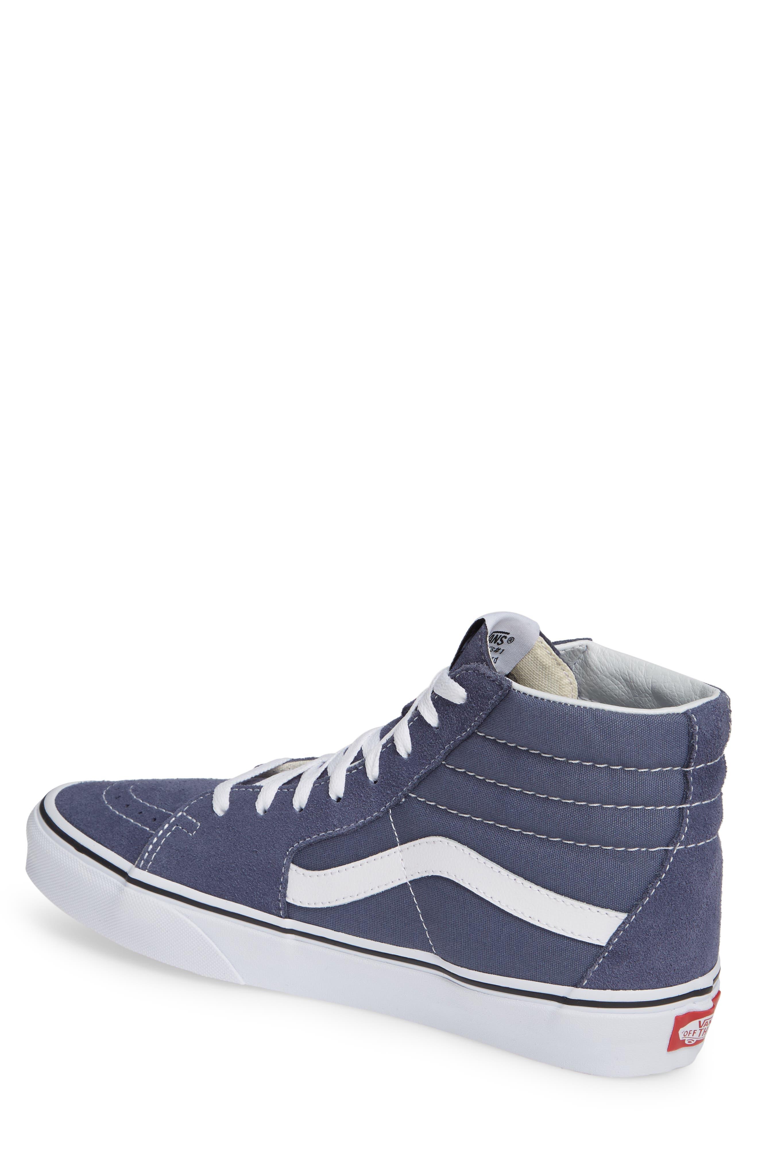 'Sk8-Hi' Sneaker,                             Alternate thumbnail 2, color,                             GREY/ TRUE WHITE
