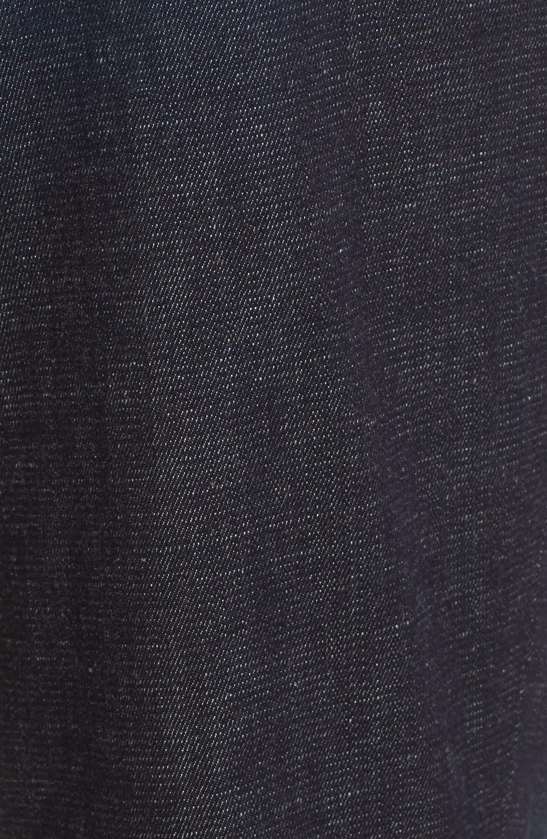 High Waist Skinny Jeans,                             Alternate thumbnail 8, color,                             SALTAIR