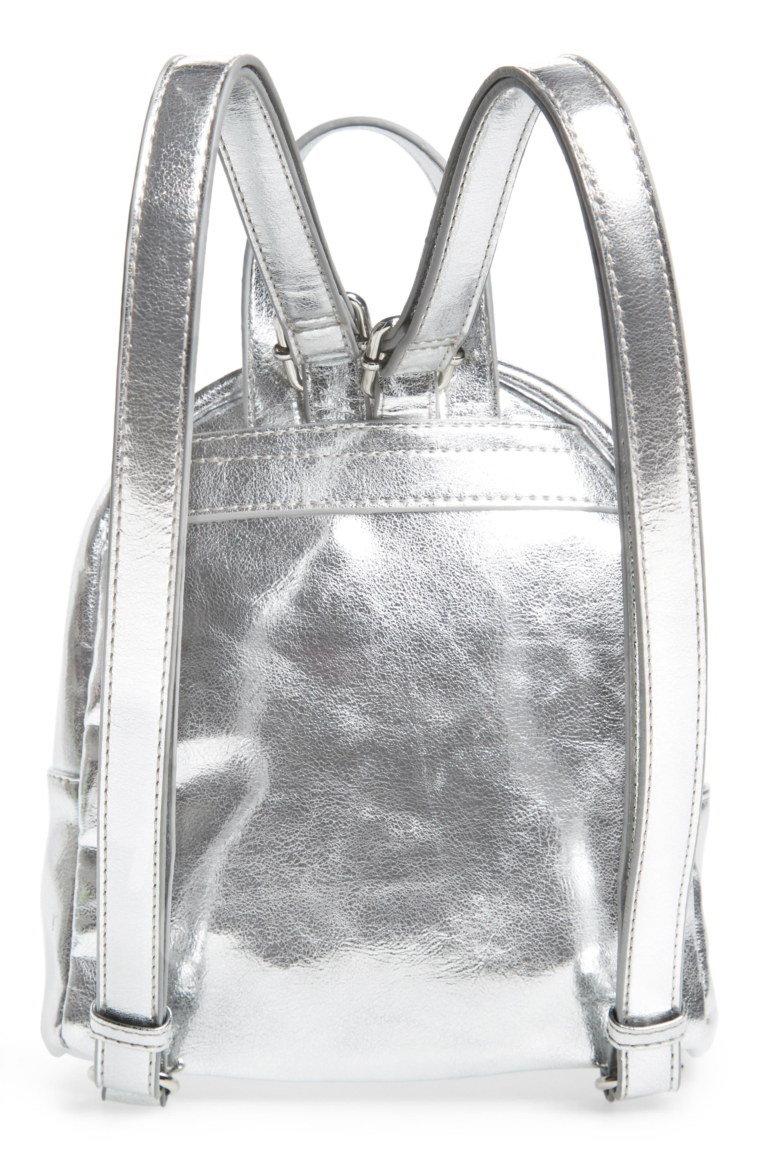 Faux Leather Mini Backpack,                             Alternate thumbnail 22, color,