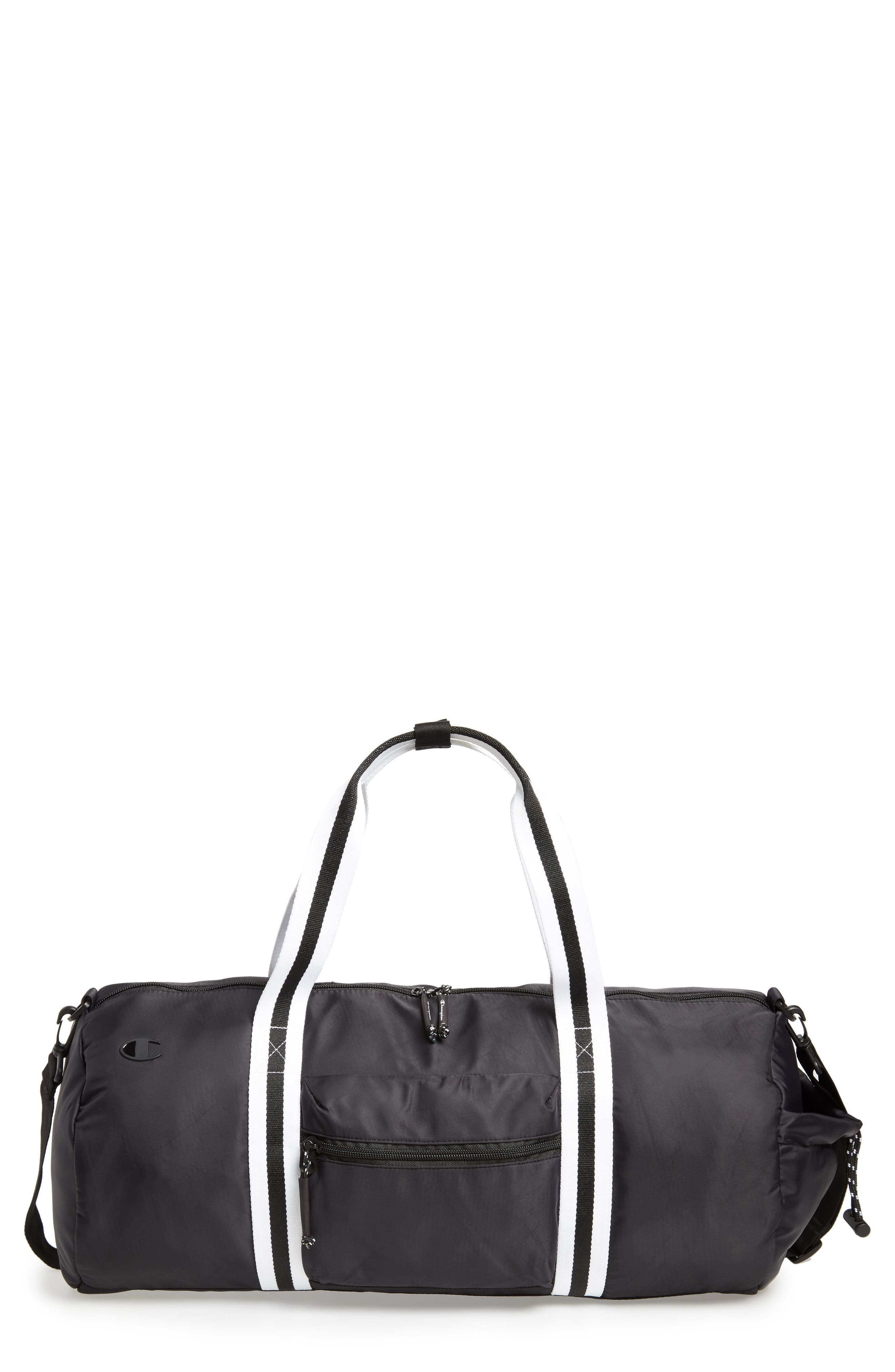Free Form Duffel Bag,                         Main,                         color, BLACK