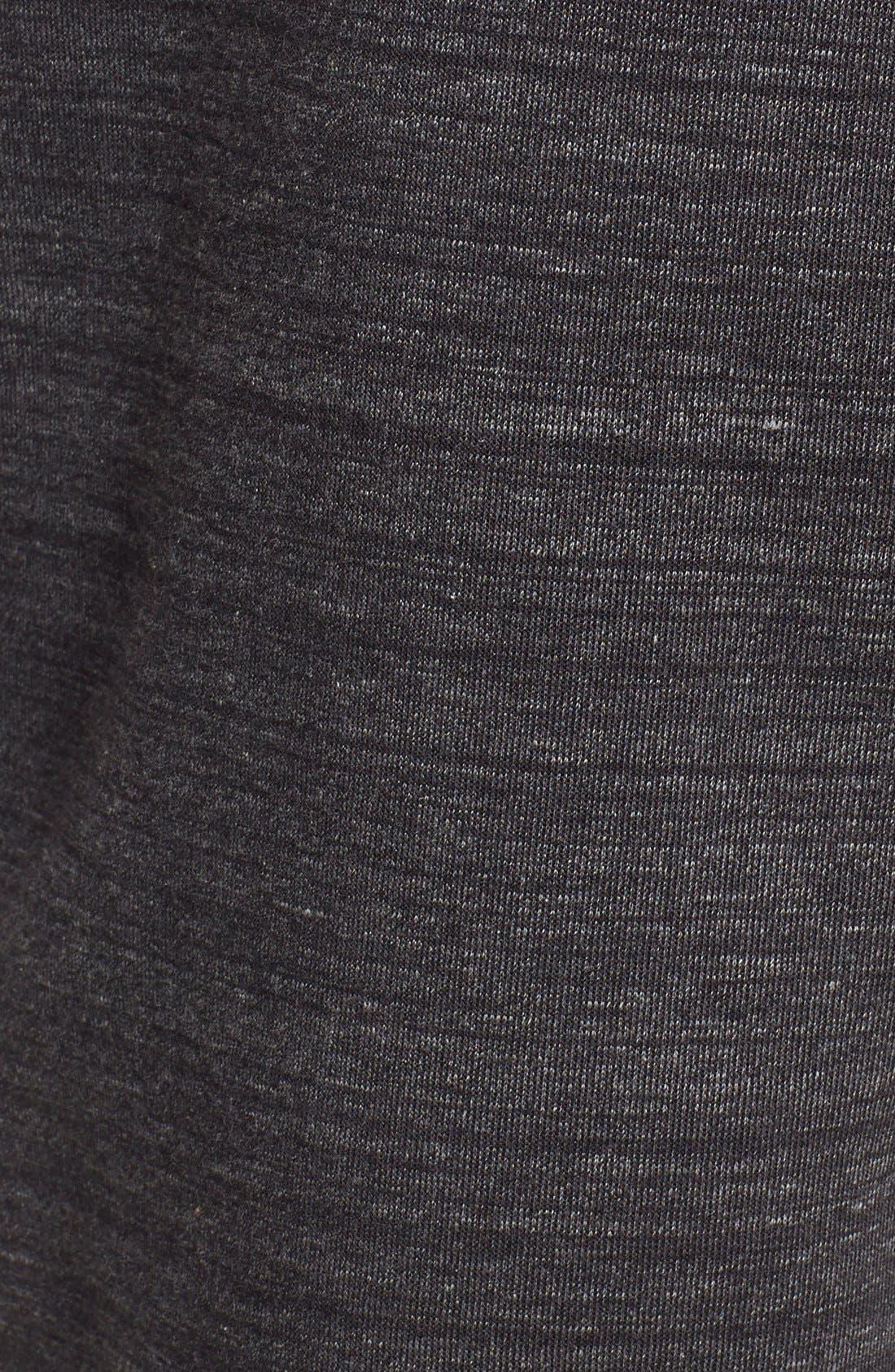 HURLEY,                             'Phantom Session' Fleece Sweatpants,                             Alternate thumbnail 5, color,                             007