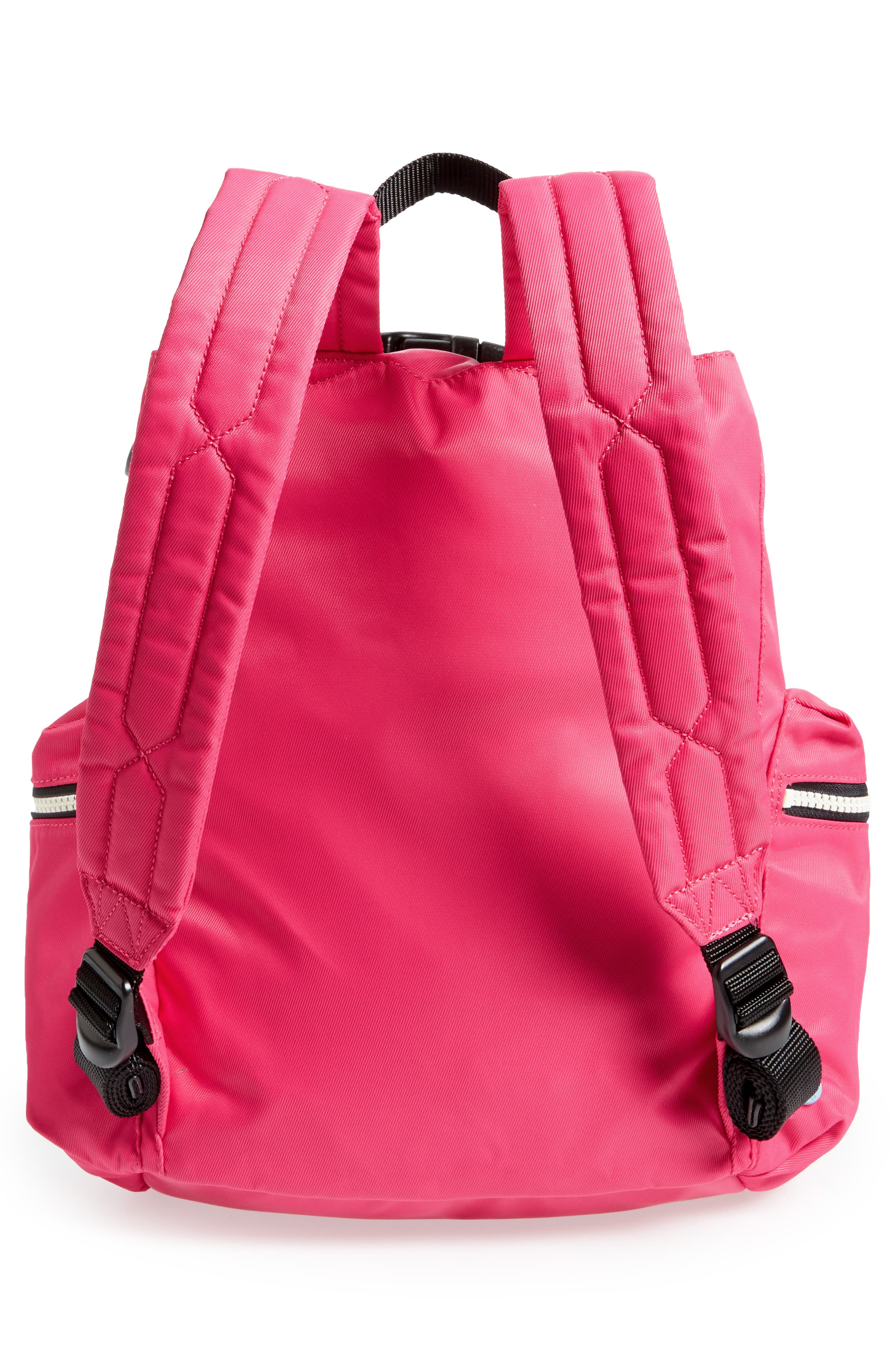 Original Mini Top Clip Nylon Backpack,                             Alternate thumbnail 9, color,