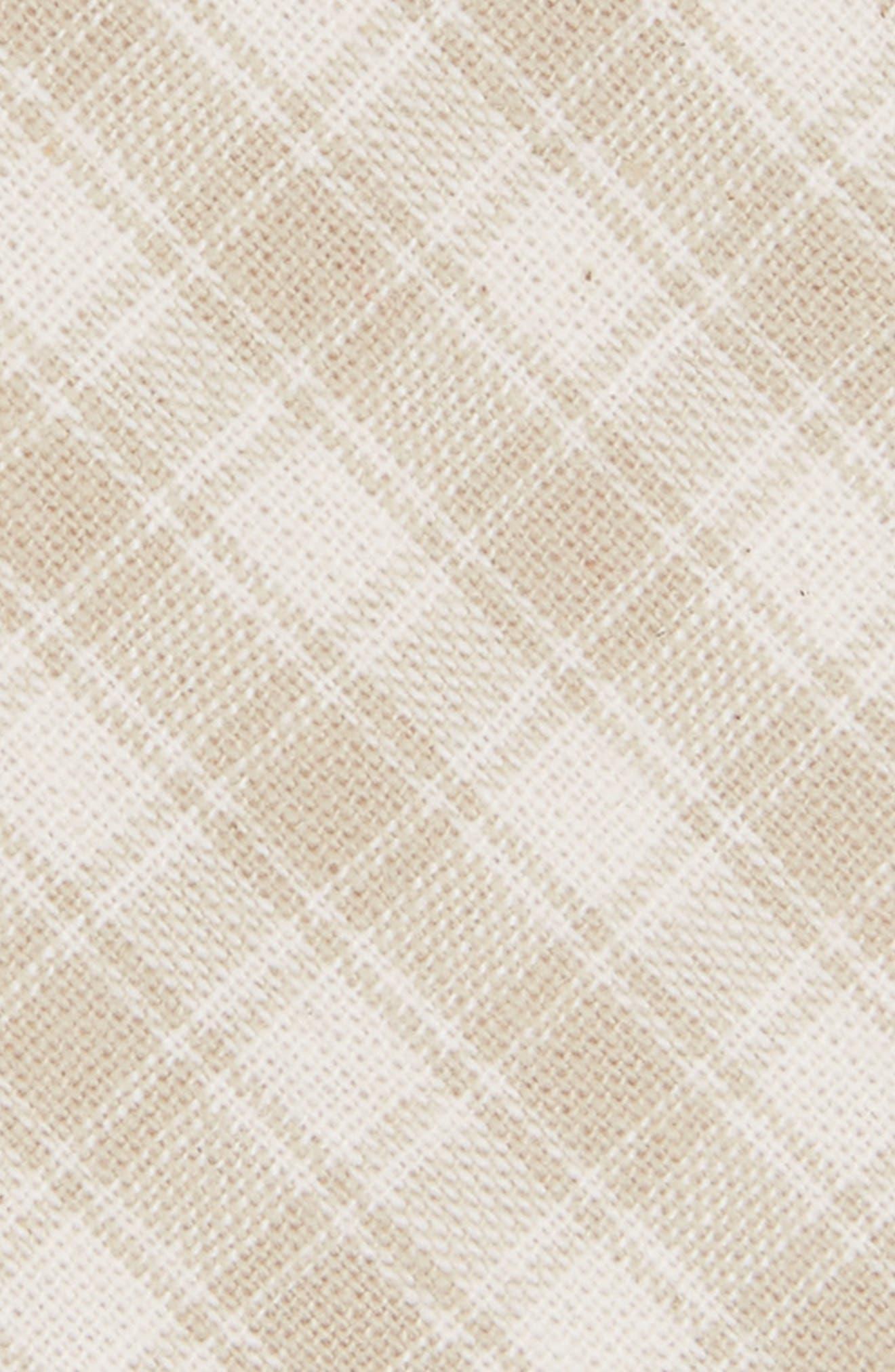 Mesh Plaid Cotton Tie,                             Alternate thumbnail 2, color,                             264