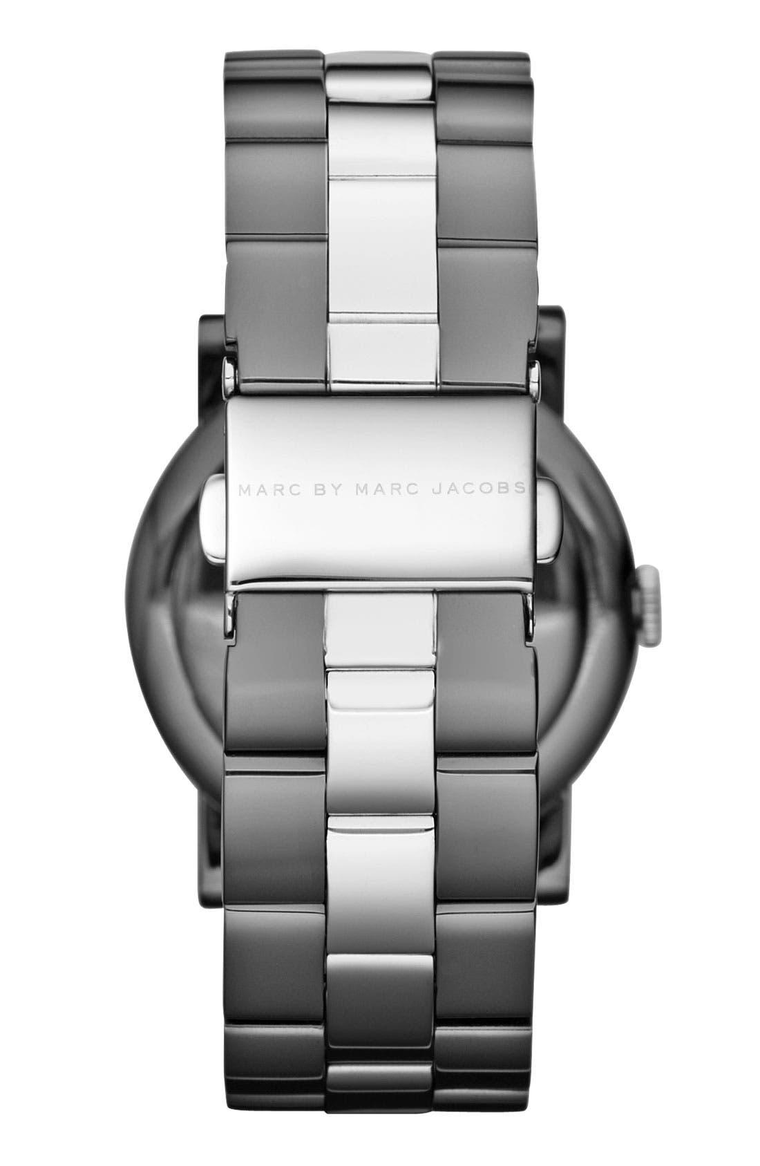 'Amy' Crystal Bracelet Watch, 36mm,                             Alternate thumbnail 2, color,                             020