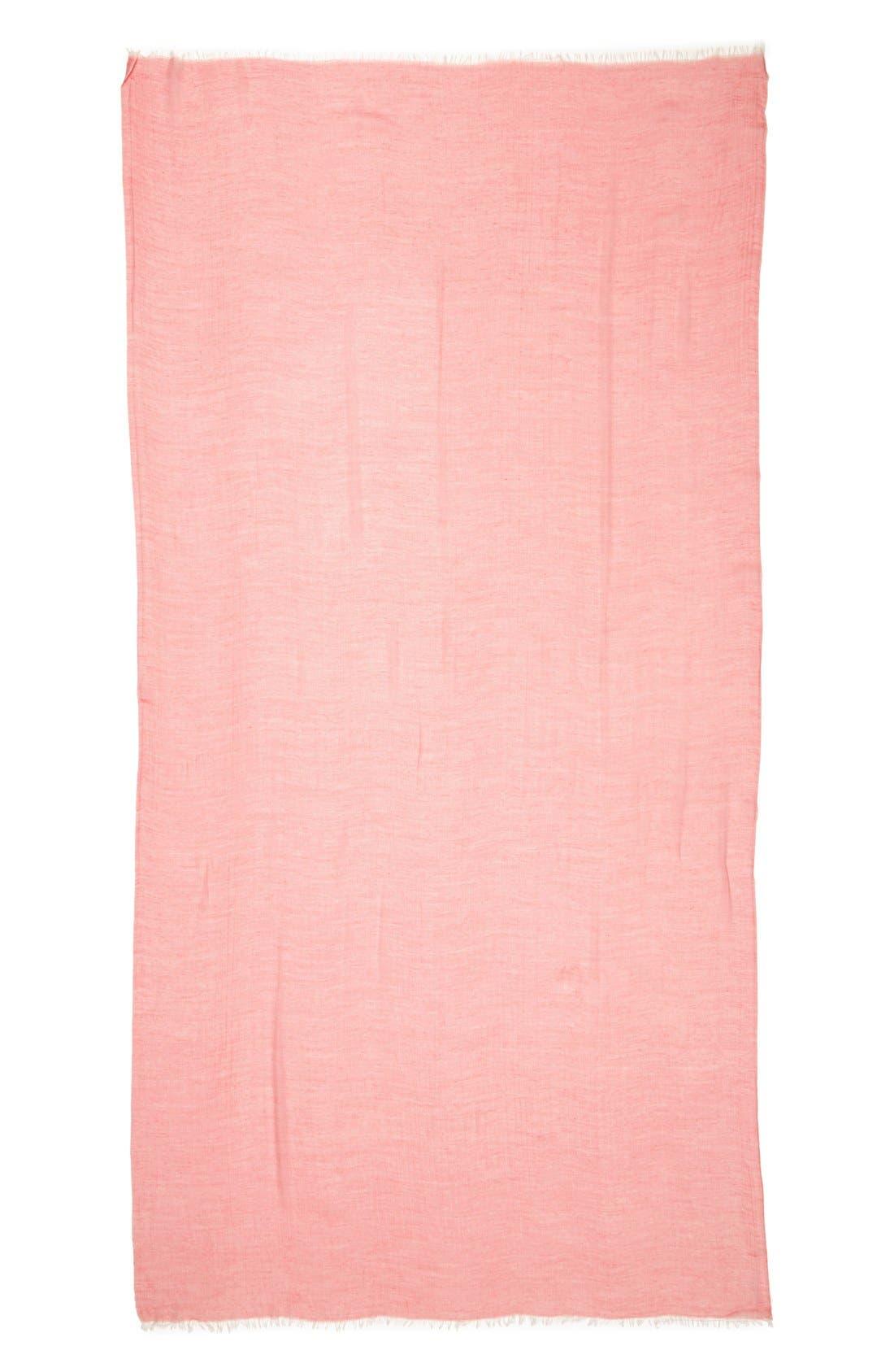 Modal Silk Blend Scarf,                             Alternate thumbnail 75, color,