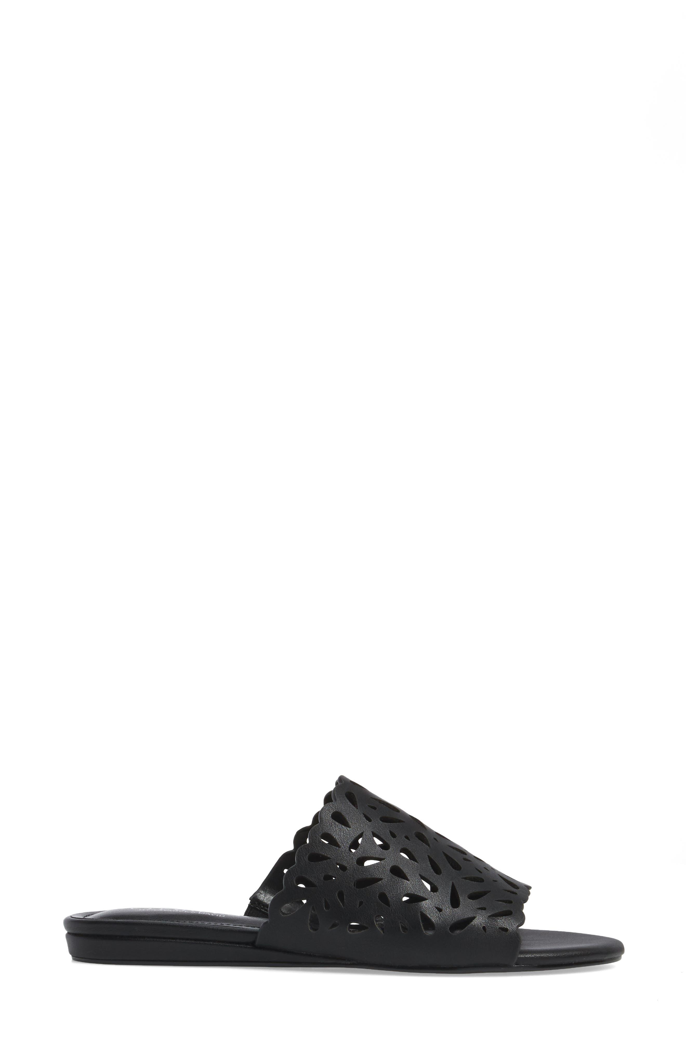 Model Slide Sandal,                             Alternate thumbnail 7, color,
