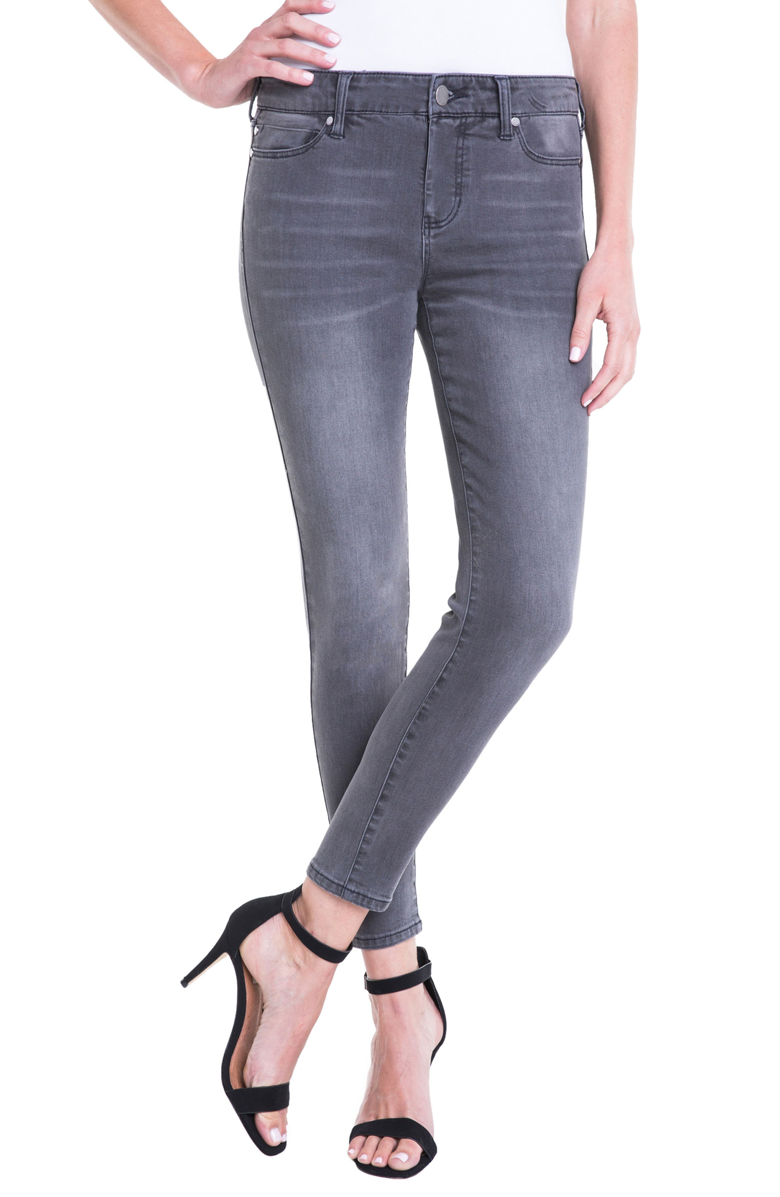 Penny Ankle Skinny Jeans,                             Main thumbnail 1, color,                             020