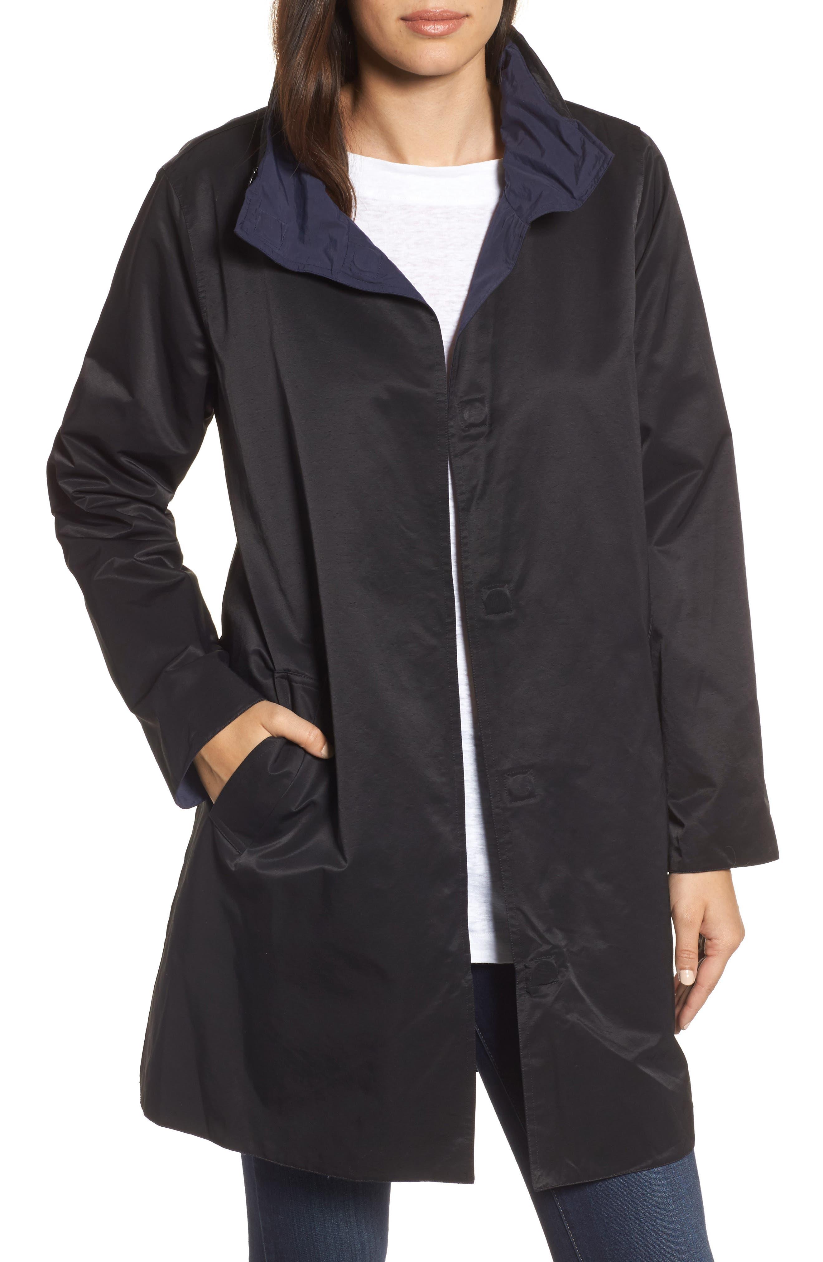 Reversible A-Line Coat,                             Main thumbnail 1, color,                             006