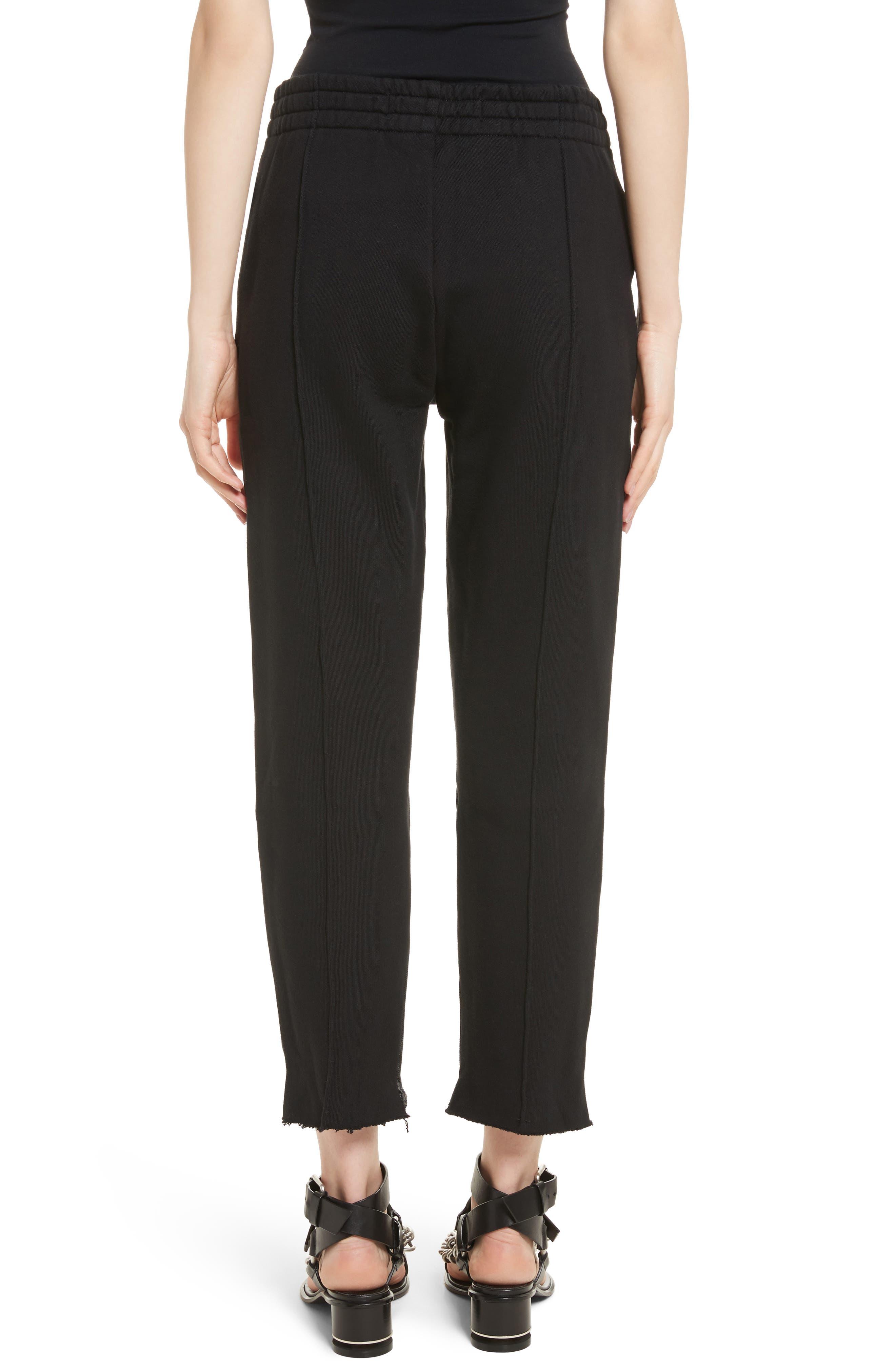 Denim x Alexander Wang Hybrid Sweatpants Jeans,                             Alternate thumbnail 2, color,