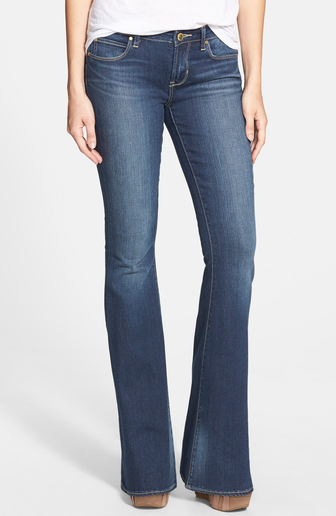 'Faith' Flare Jeans, Main, color, 400