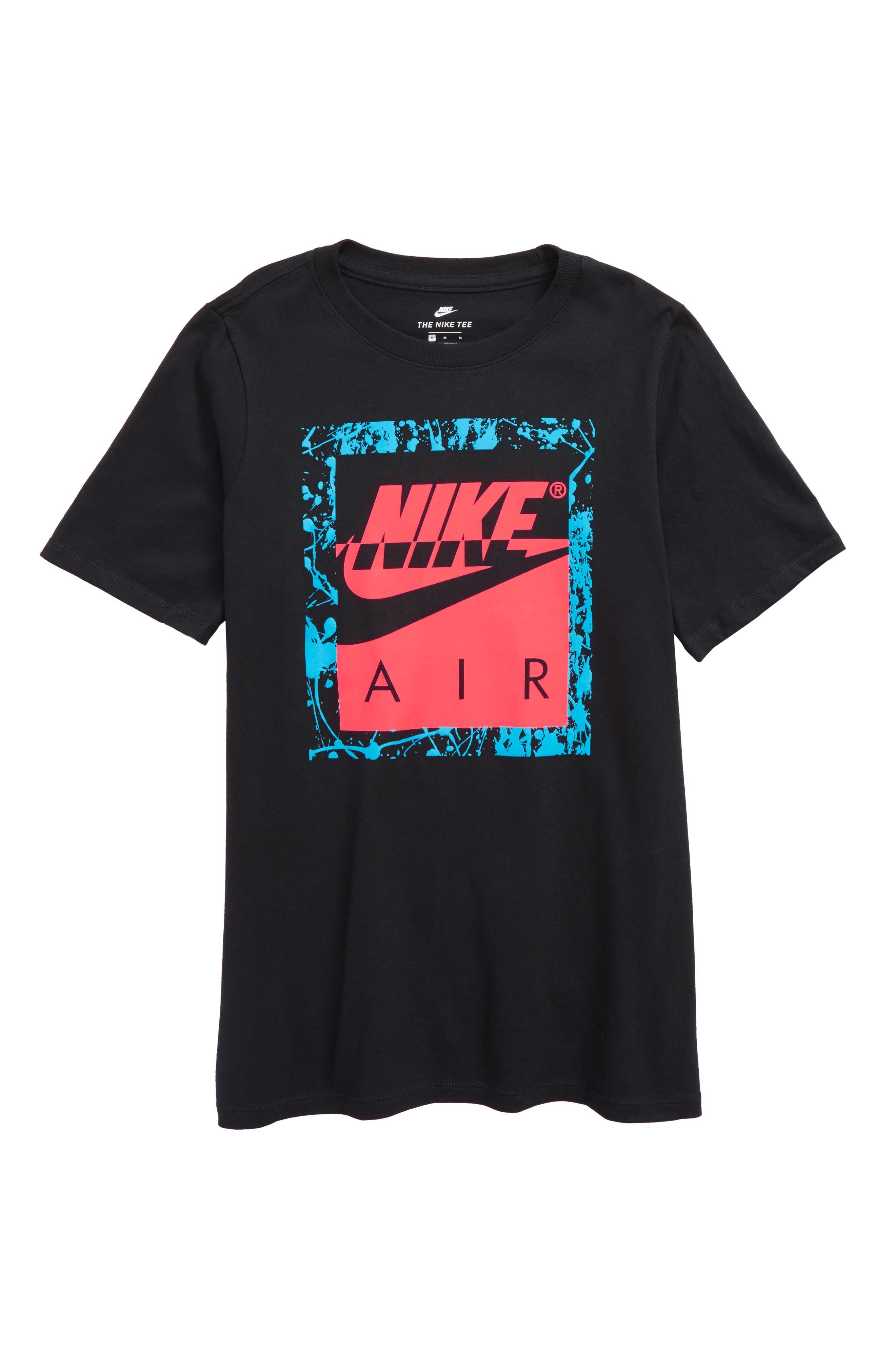 Air 180 Graphic T-Shirt,                             Main thumbnail 1, color,                             010
